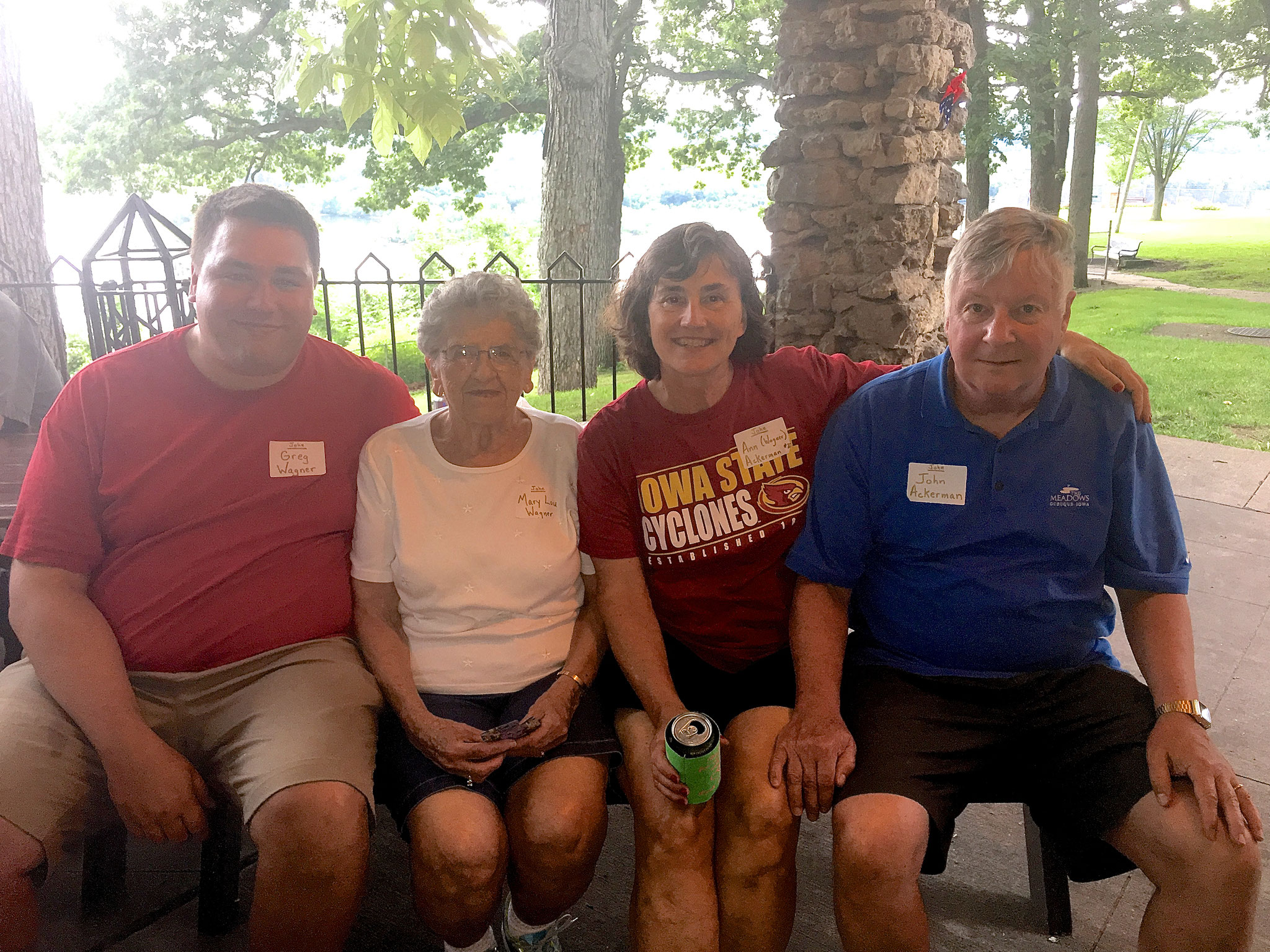 Greg Wagner & Mary Lou Wagner with Ann and John Ackerman
