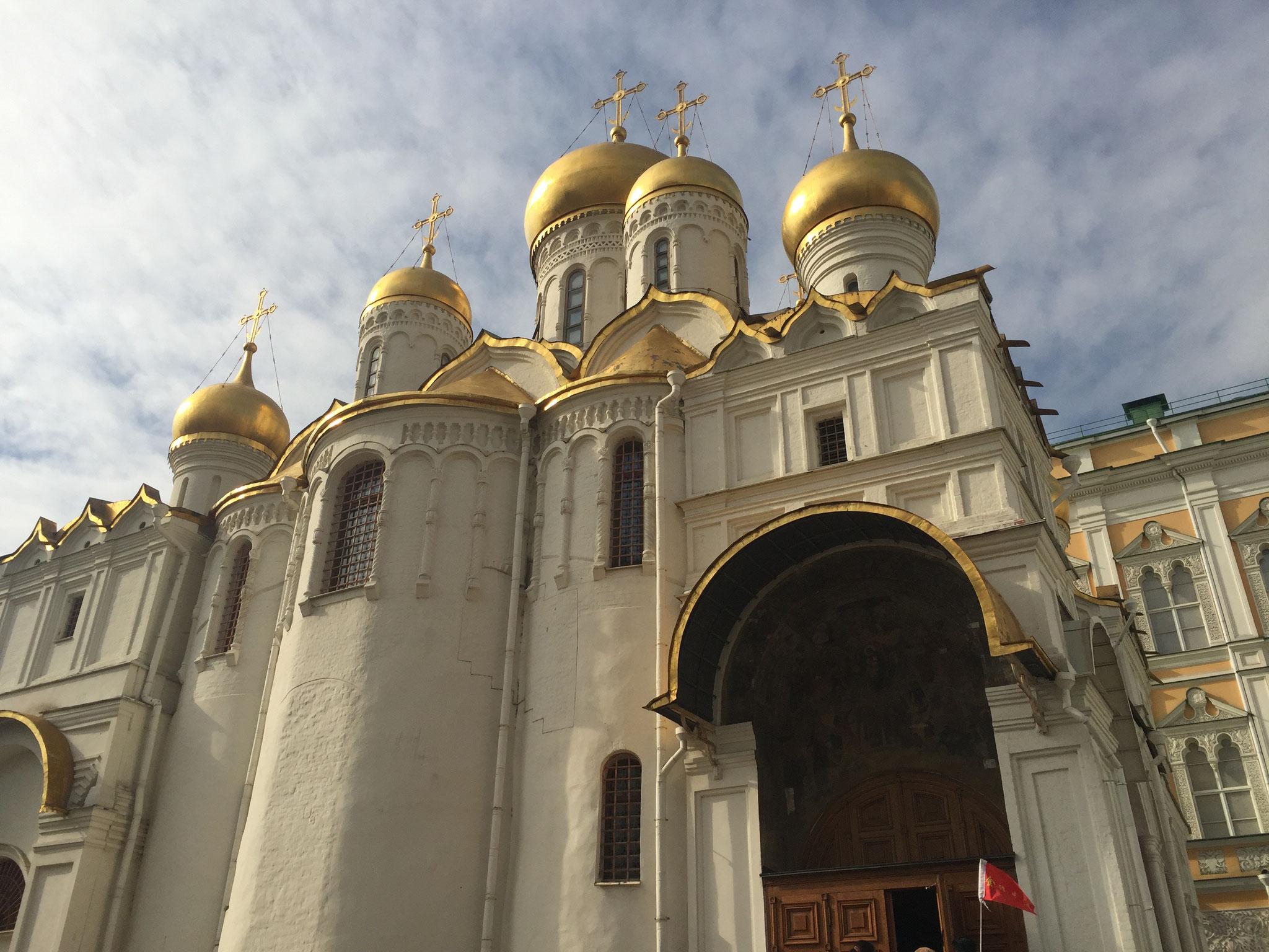 Russian Orthodox church in the Kremlin