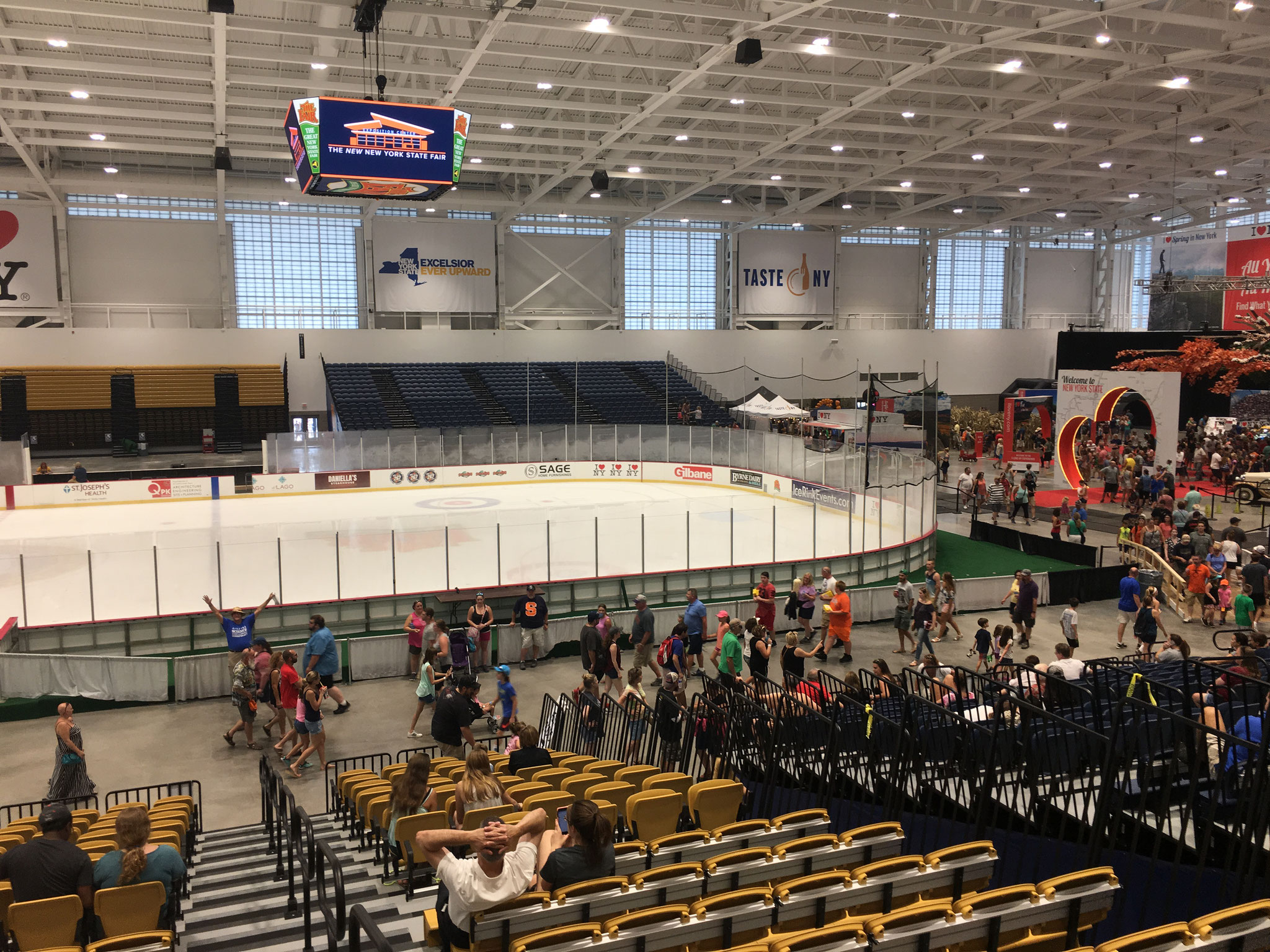 the new ice rink