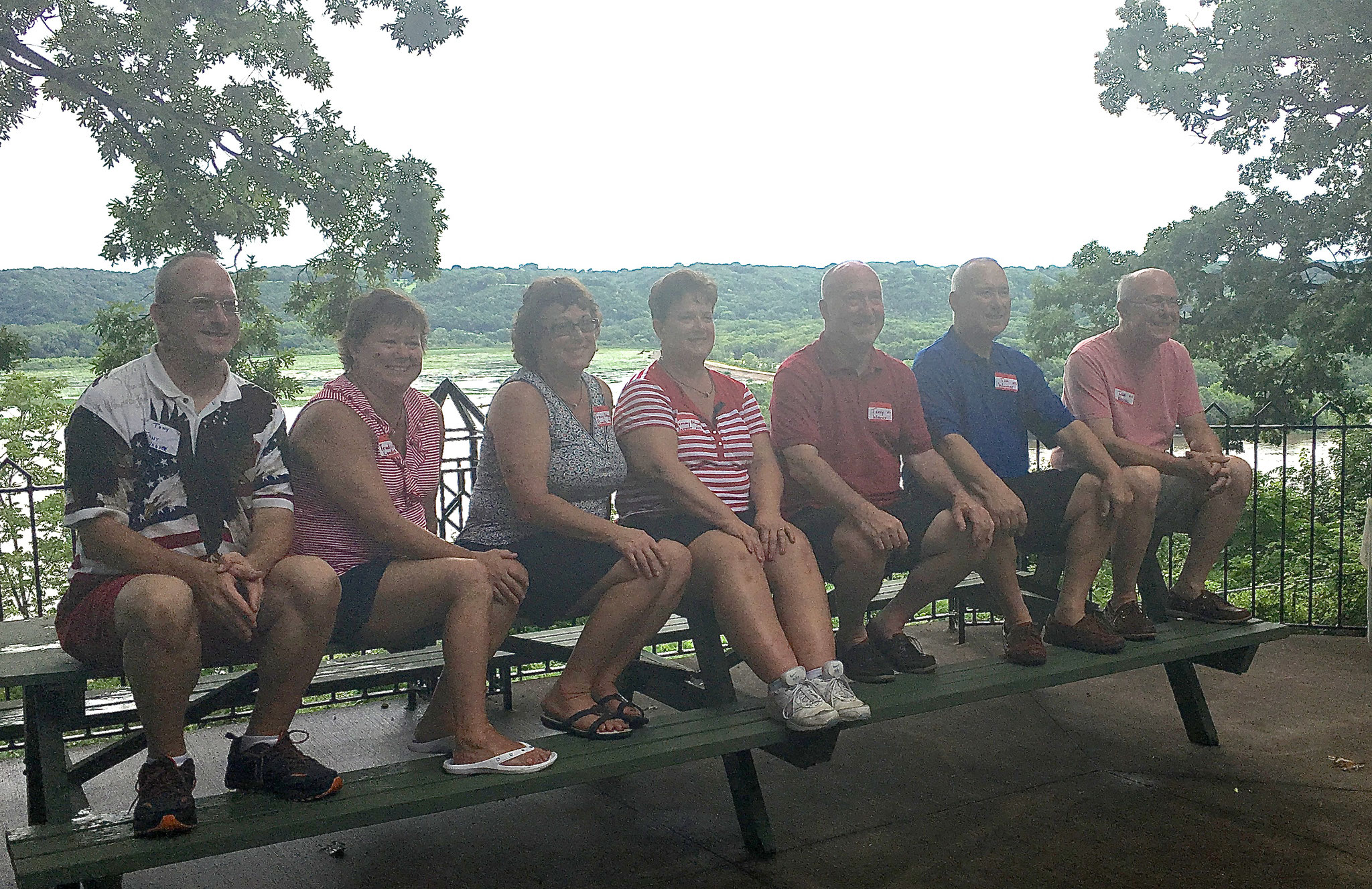 Tony, Tracy, Trudy, Tammy, Terry, Tim and Tom Wagner