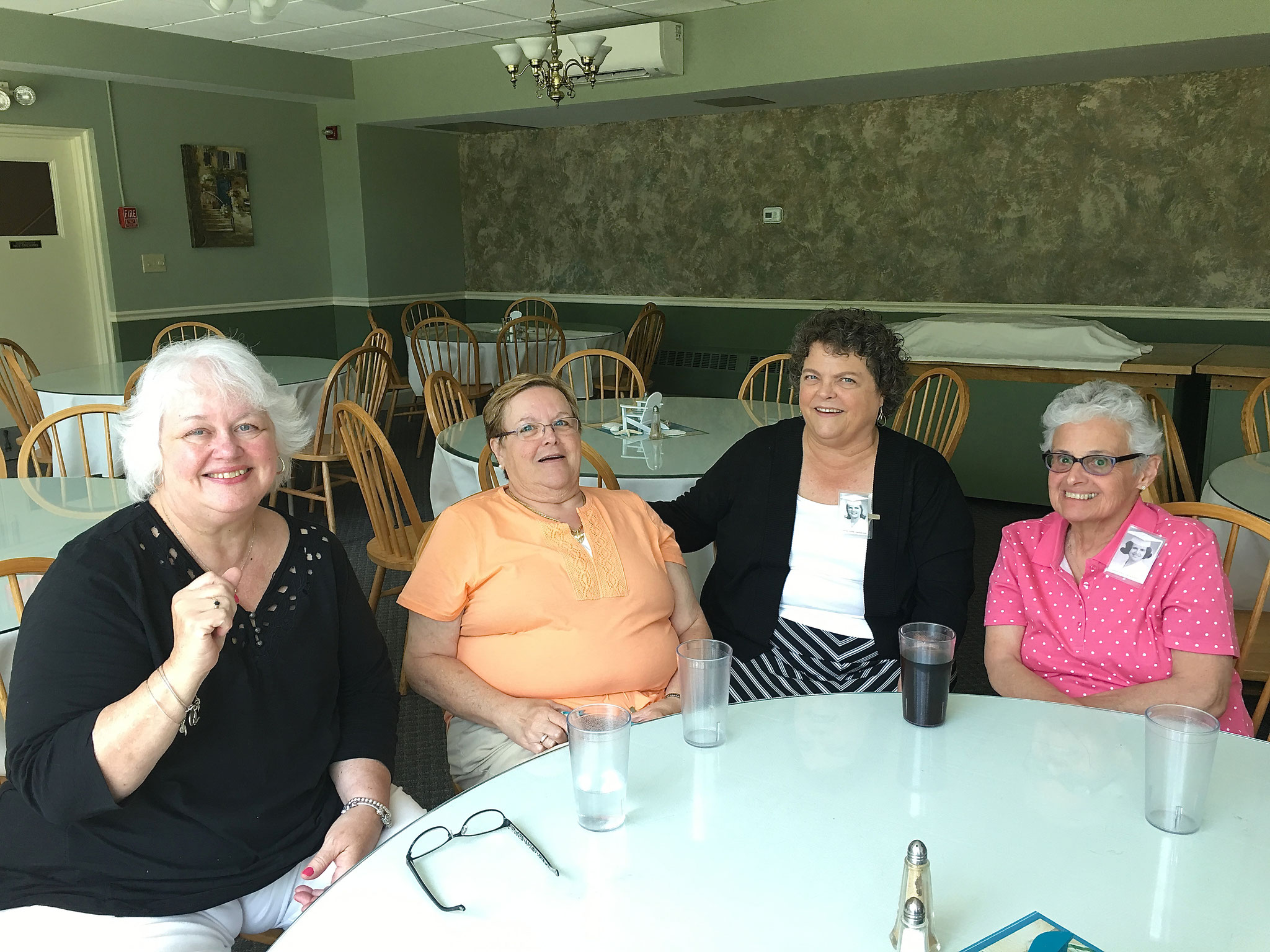Mary Jane, Diane, Linda Edgerton, Linda Palmisano