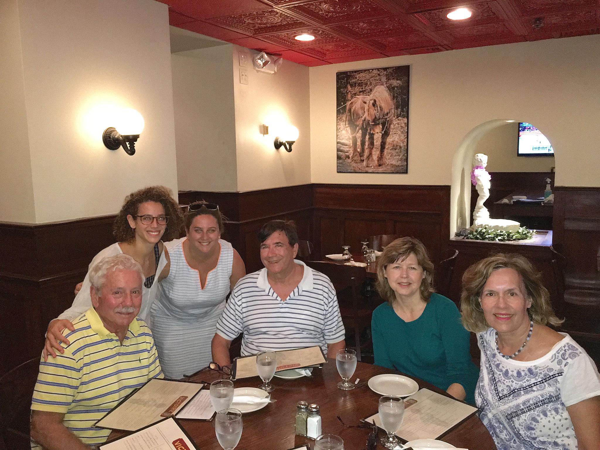 Don, Clara, Jean Fischman, John W., Barbara Lohse, & Lorraine in Rochester, NY 8-13-16
