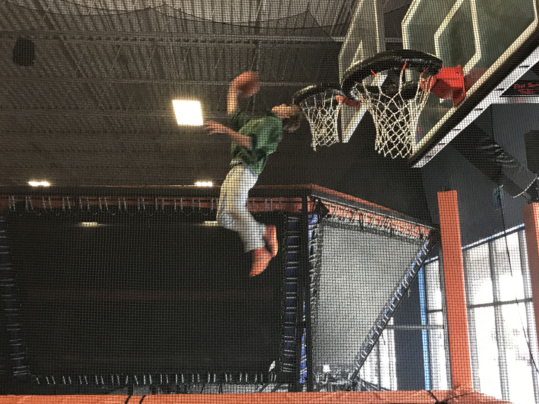 Jack at Sky Zone in Syracuse, NY
