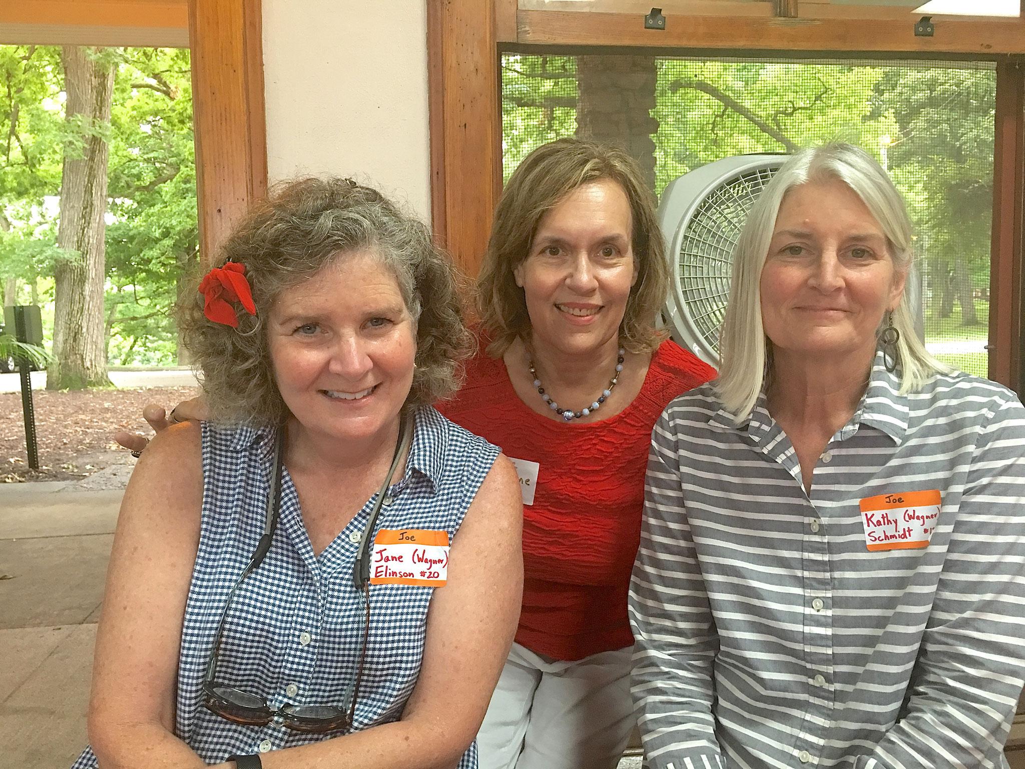 Jane Elinson with Lorraine Gudas and Kathy Wagner