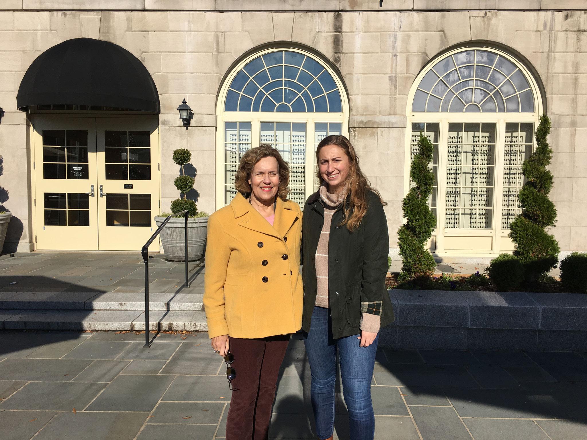 Lorraine & Emma Kagel, 11-2018, Wake Forest, NC