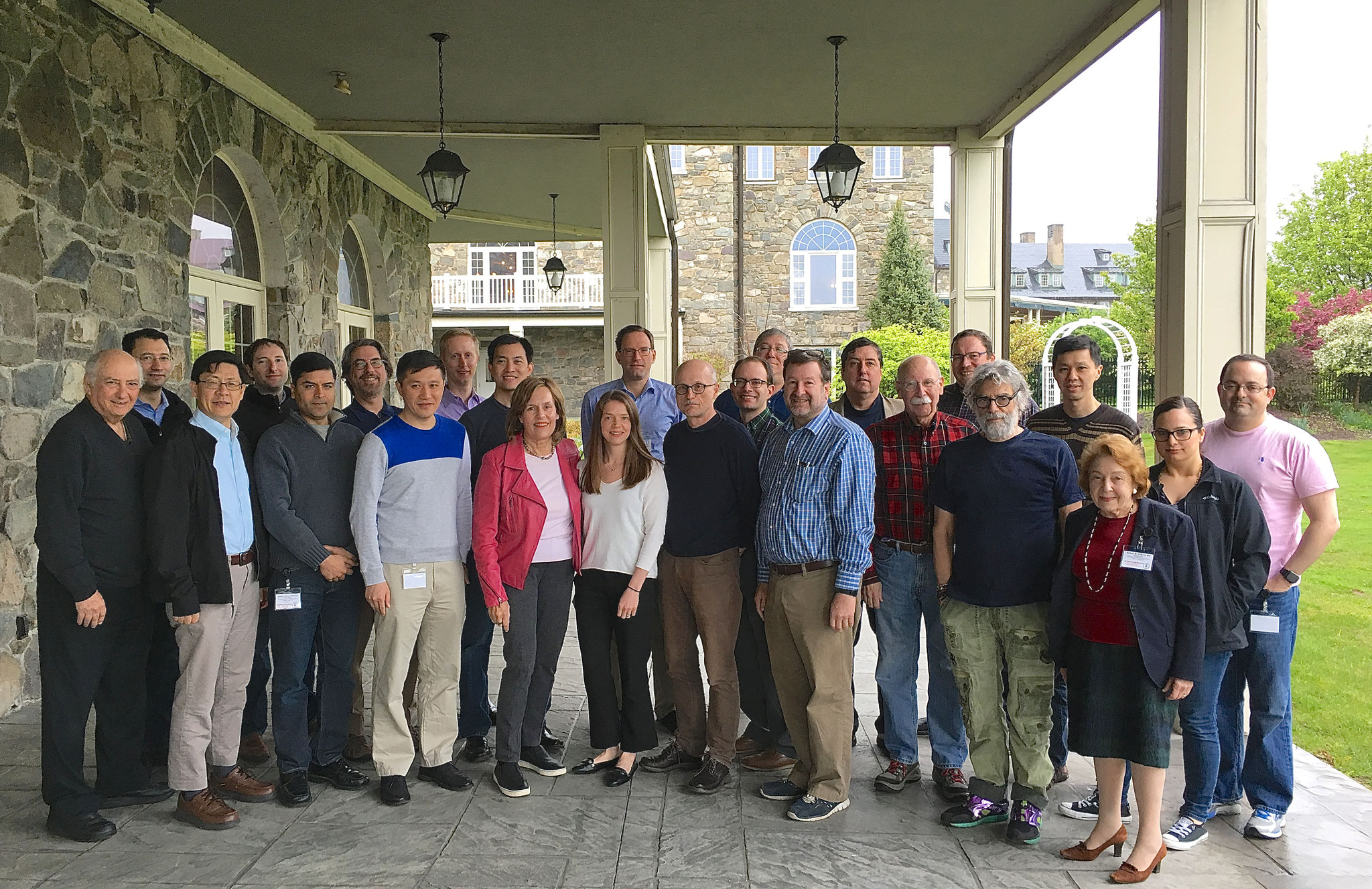 Pharmacology Program Retreat, May 11-13, 2017 Faculty picture  Sky Top, PA