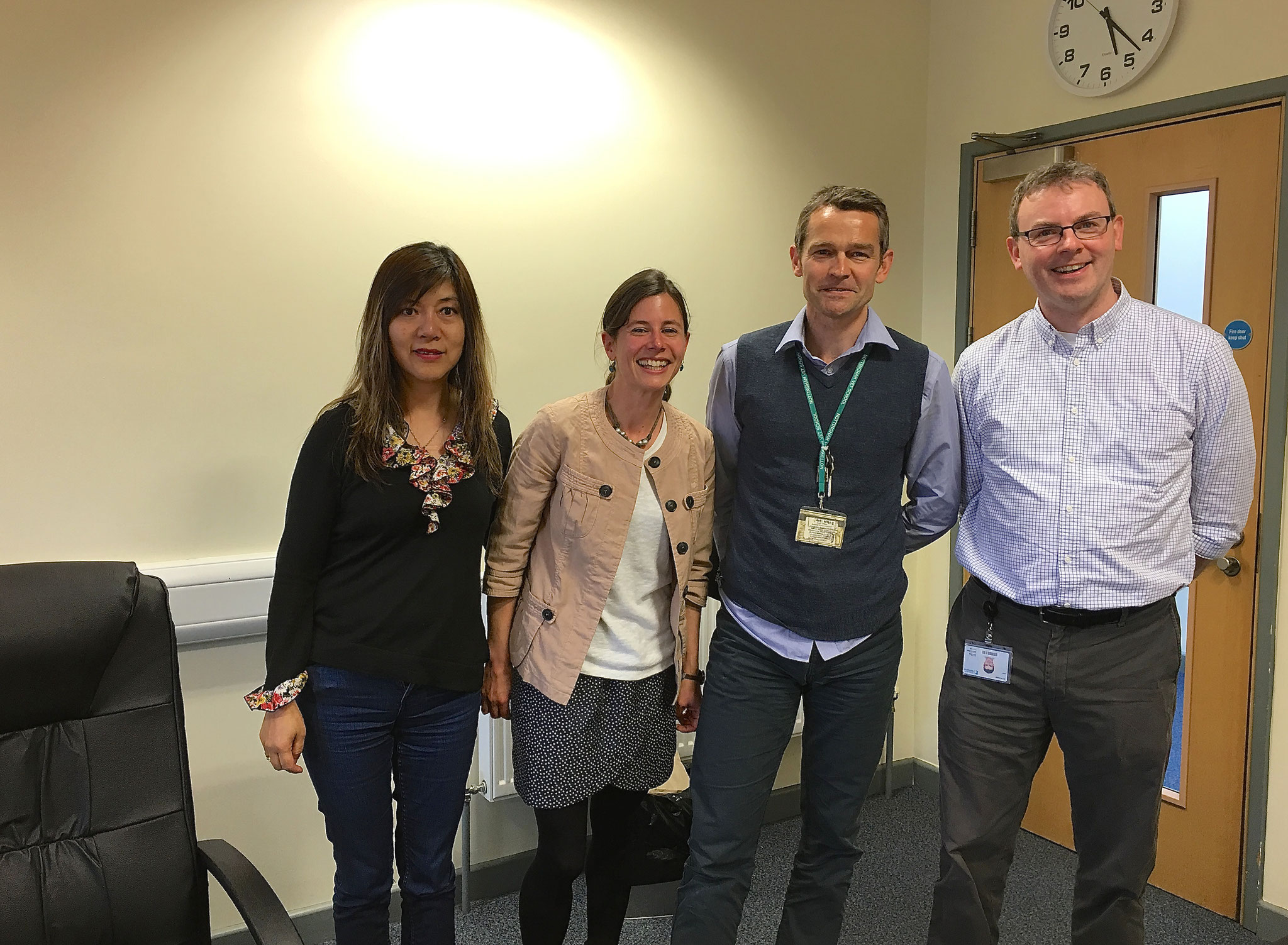 Dr. Jenny Persson, Dr. Simone de Brot, Dr. David Gardner, Dr. Nigel Mongan