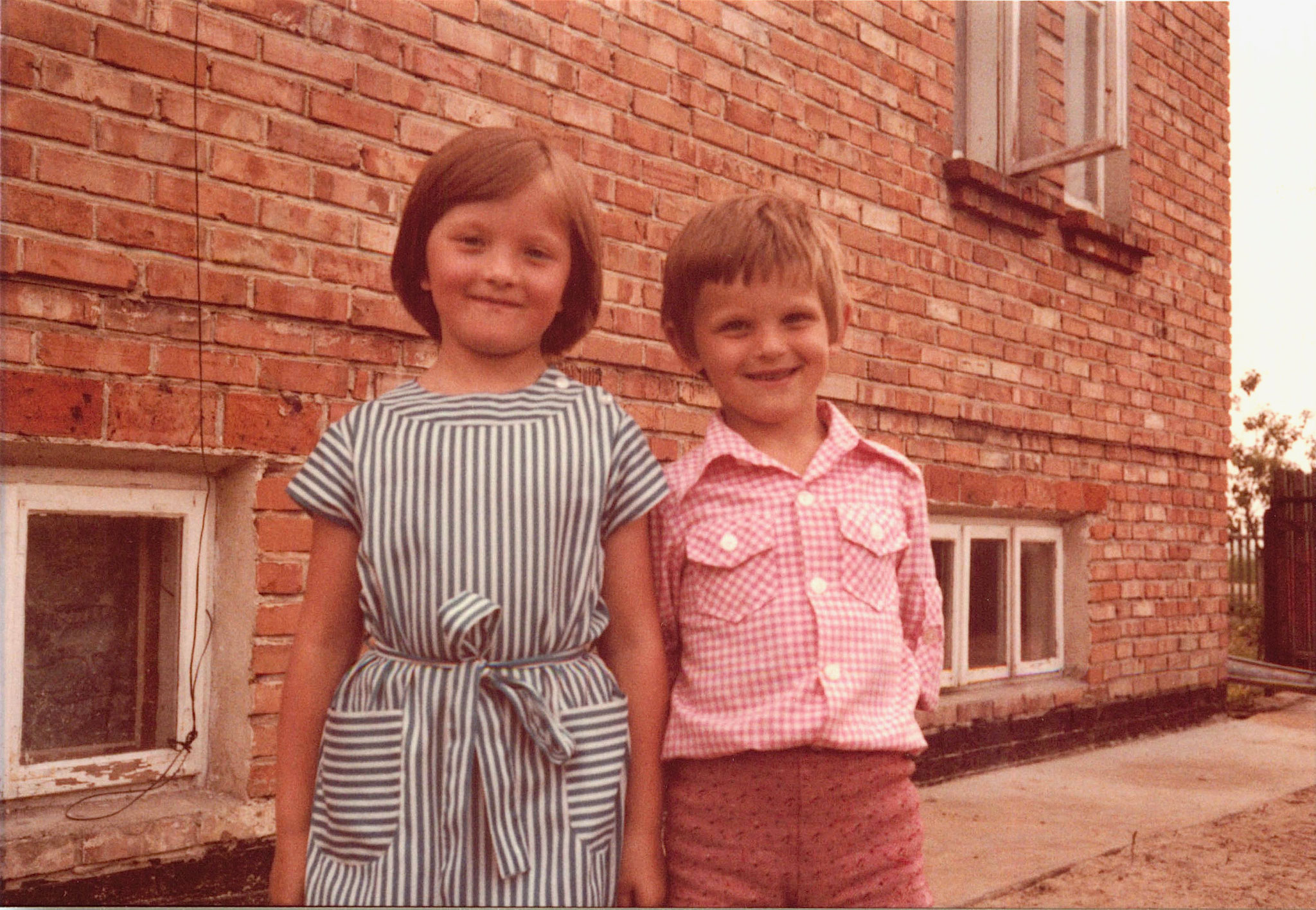 Margaret & Adam, Stanley's children. Stanley is the son of Walter Bogden, Paul Bogden's younger brother, whom he never met.
