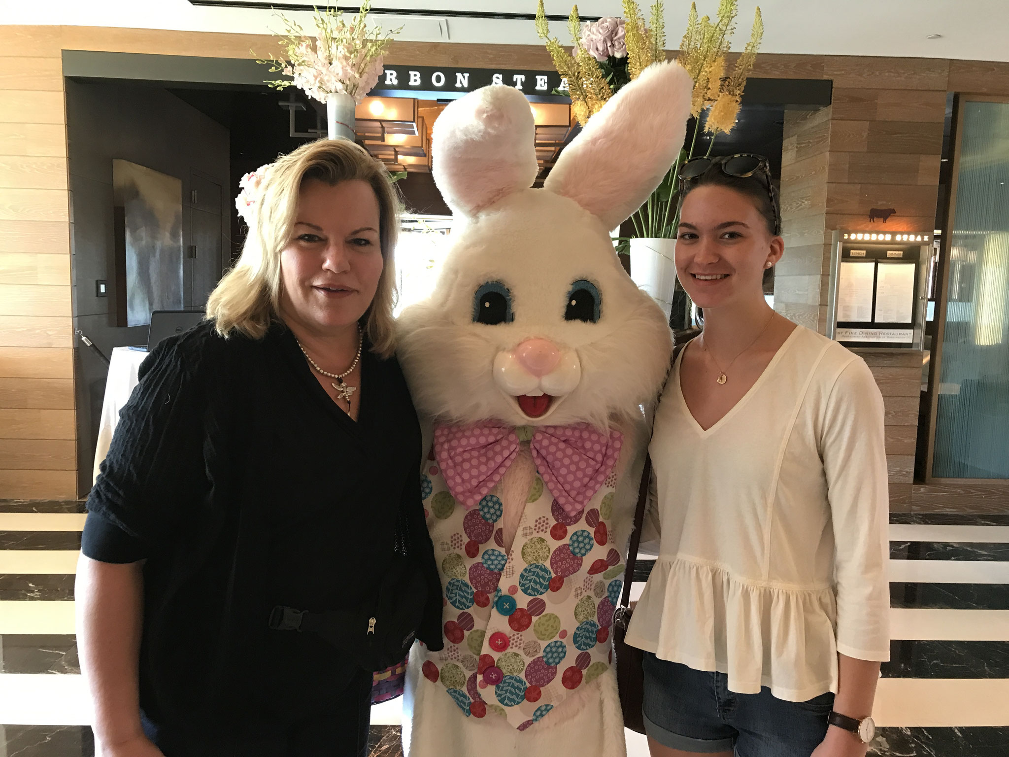 Celeste & Bunny & Ellie, Easter weekend, 2017