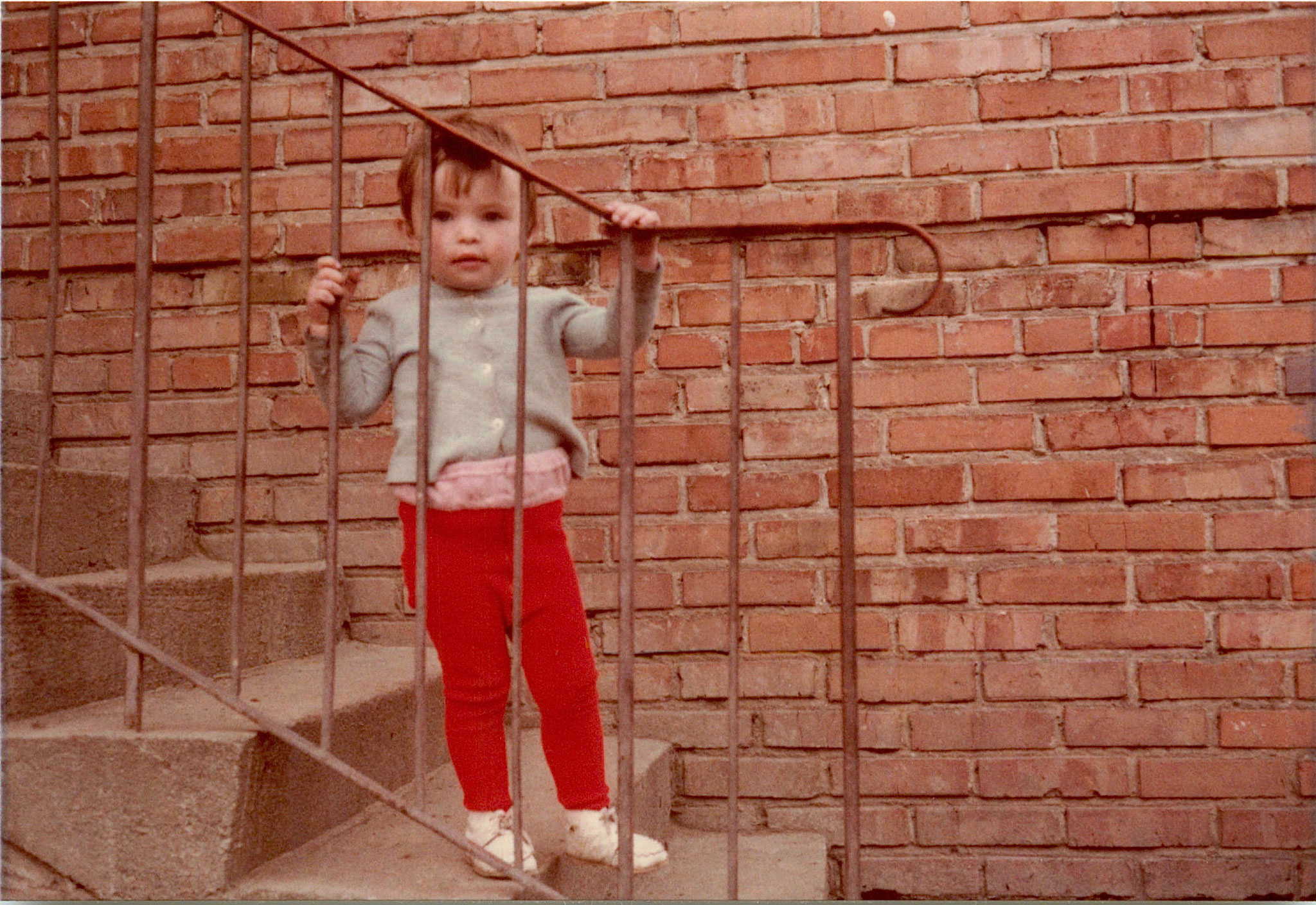 Ala (Halina)?, Jadwiga's daughter, 2 years old, 1978