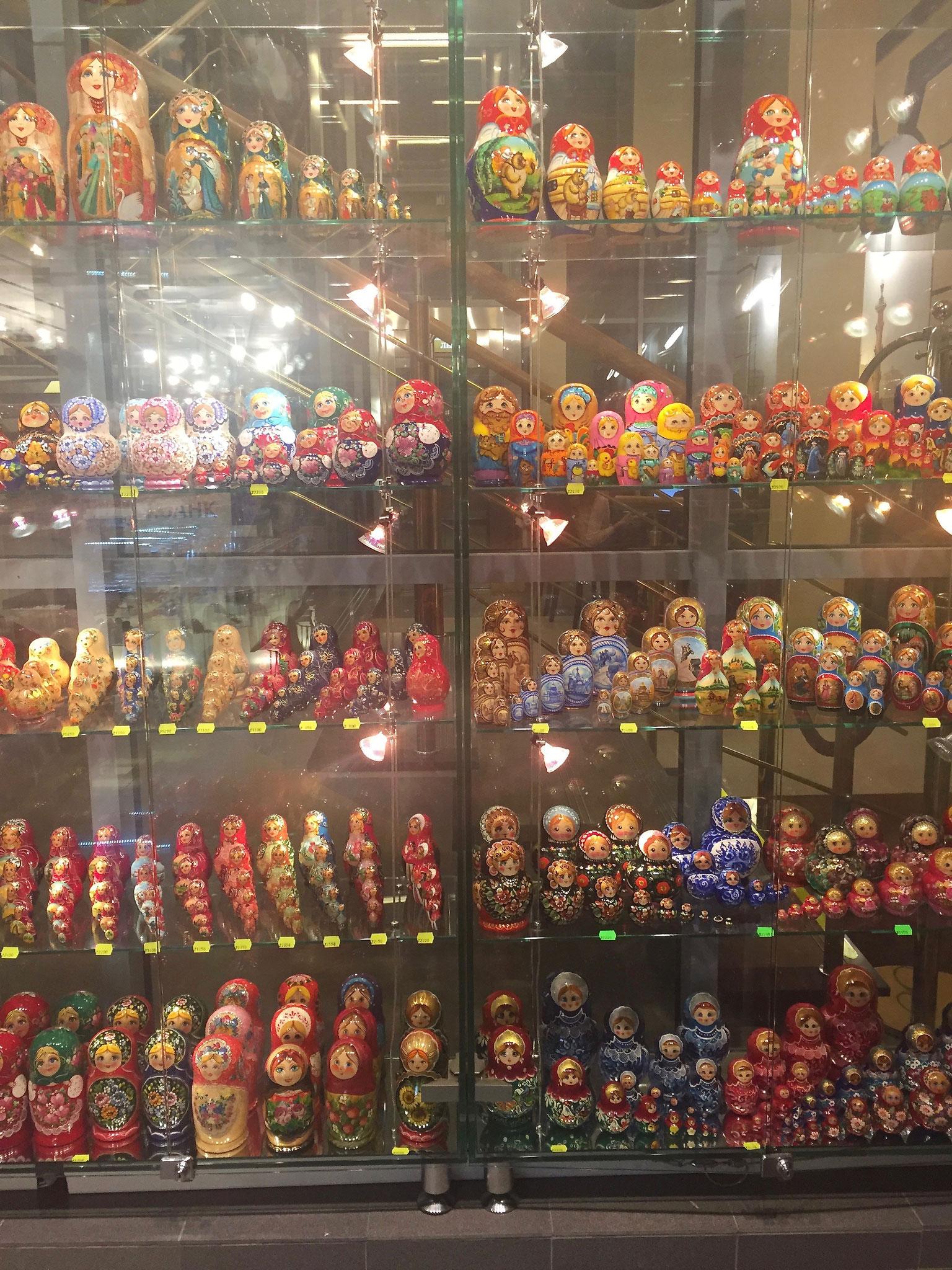 Matyroshka dolls