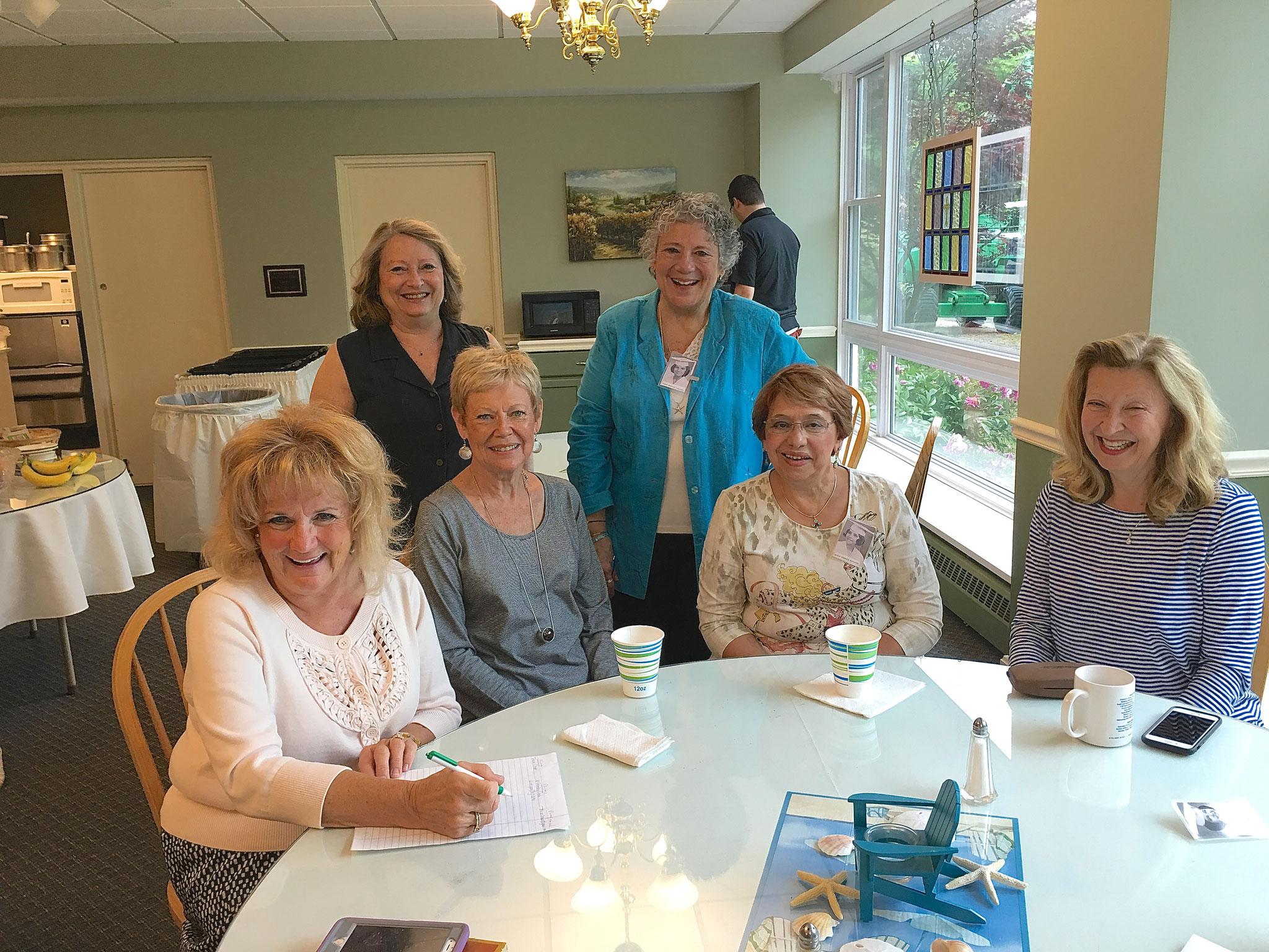 Susie Schall Z., Kathy, Janelle, Sue, Maria, Pat