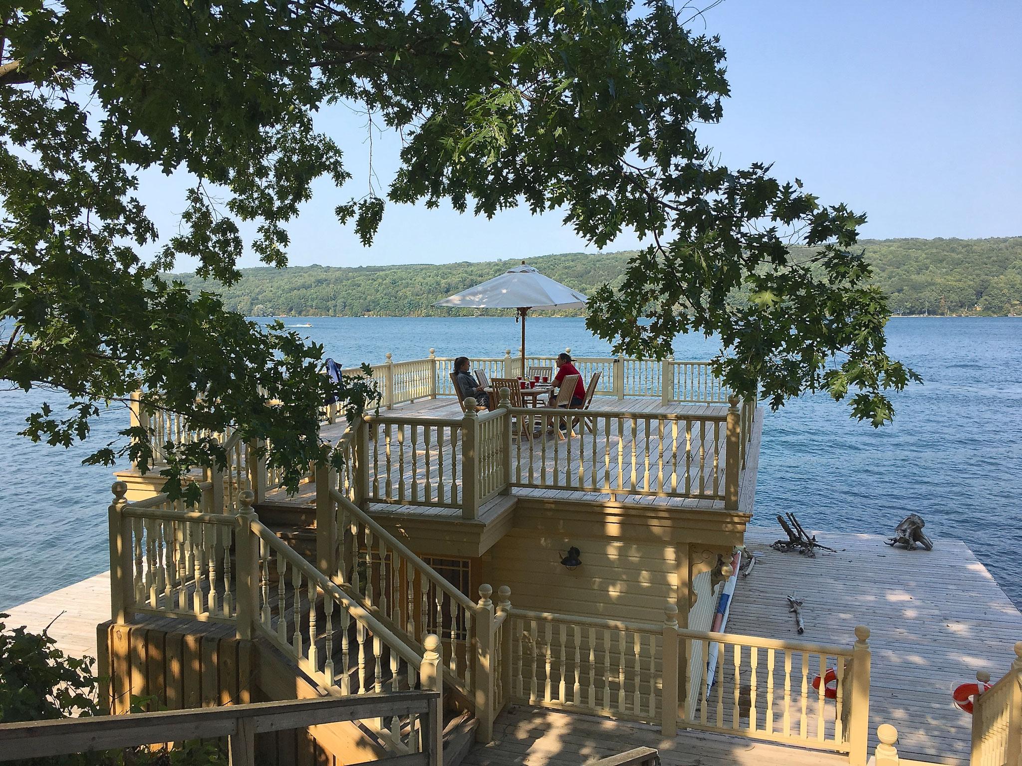 Labor Day at Skaneateles Lake  9-4-17