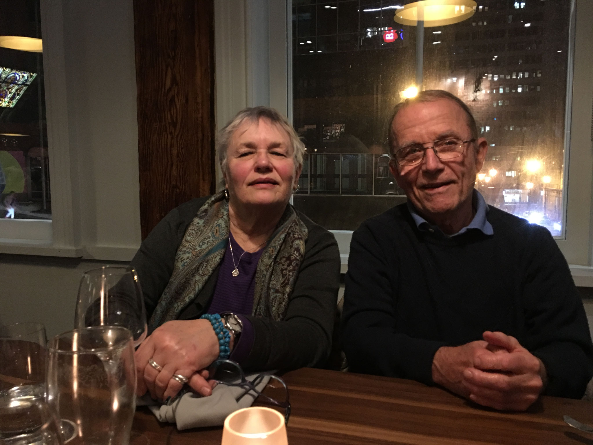 Susan & Barry Barner, March 2018