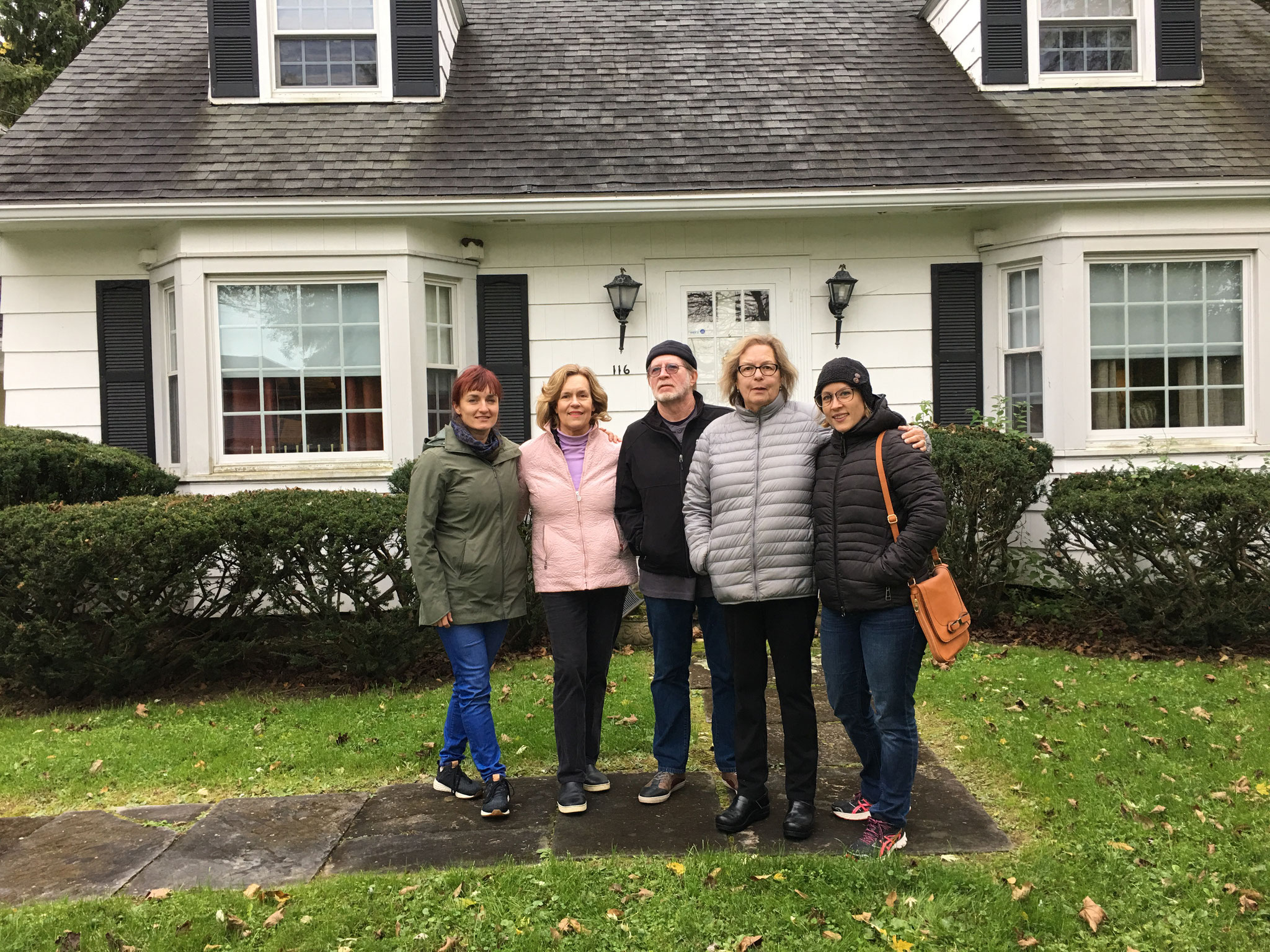 Wendy, Lorraine, Jerry, Jan, & Emily Barner Oct. 2018, Syracuse, NY