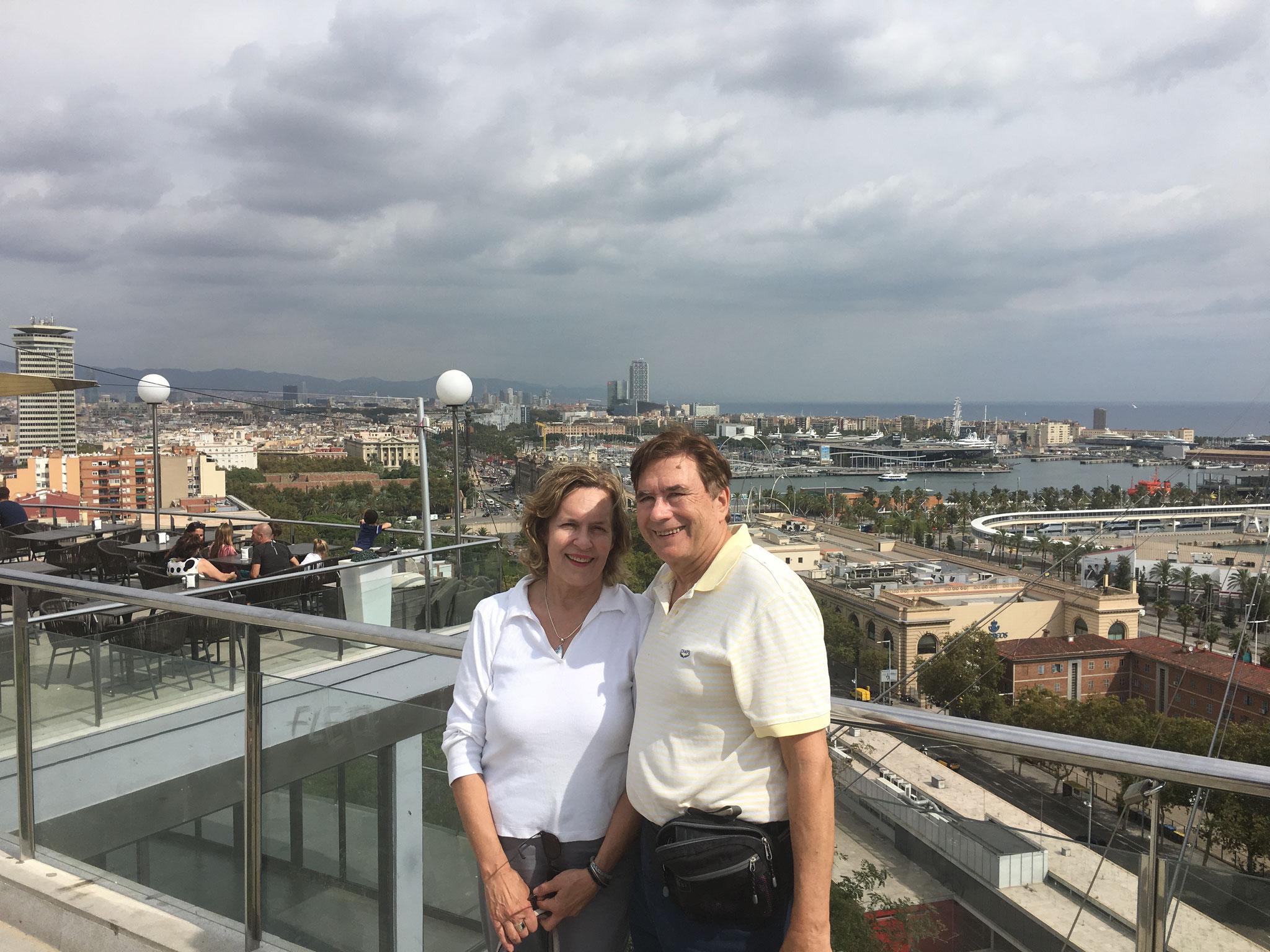Lorraine & John in Barcelona, September, 2018