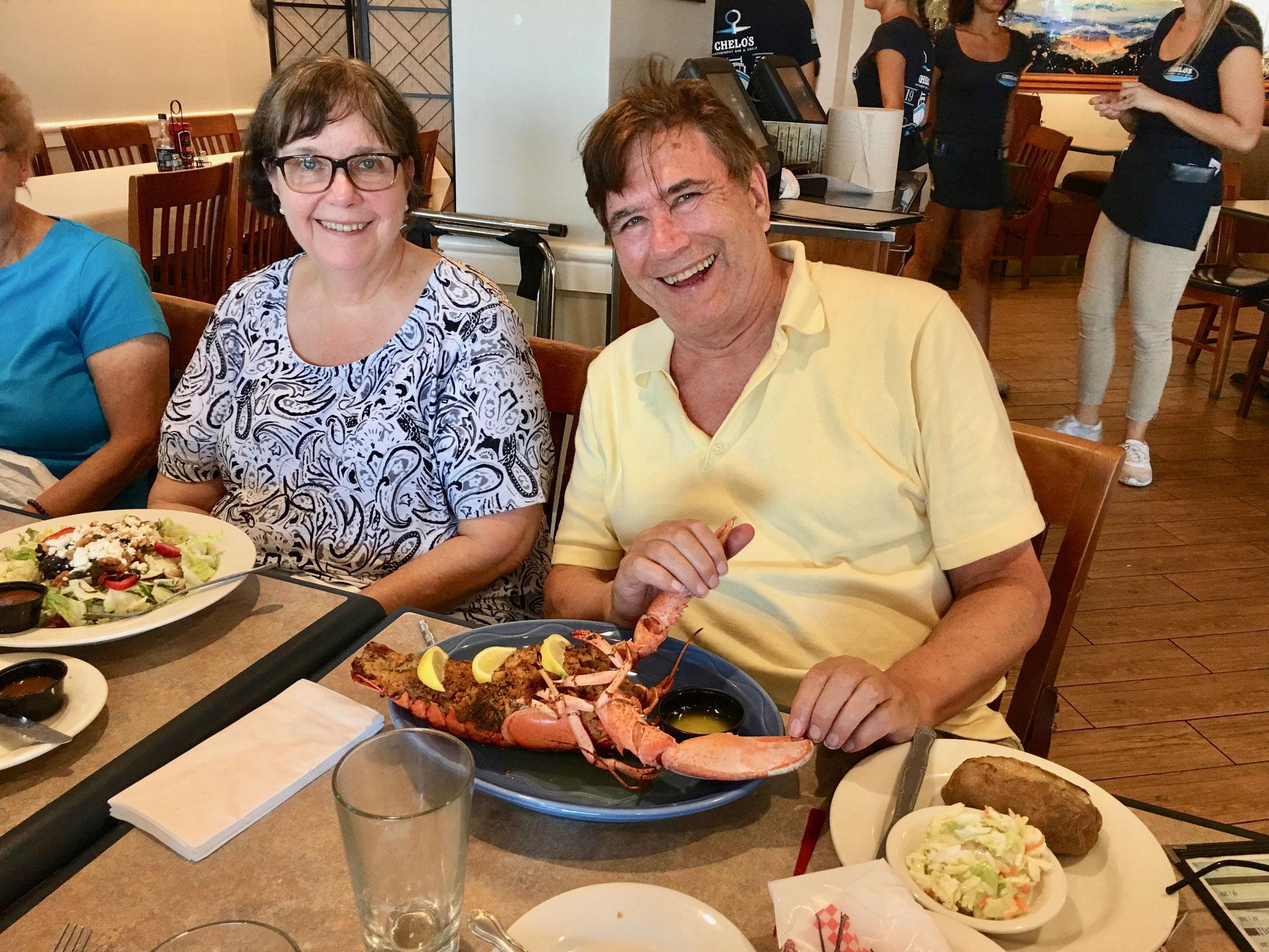Elaine & John Wagner, July, 2018