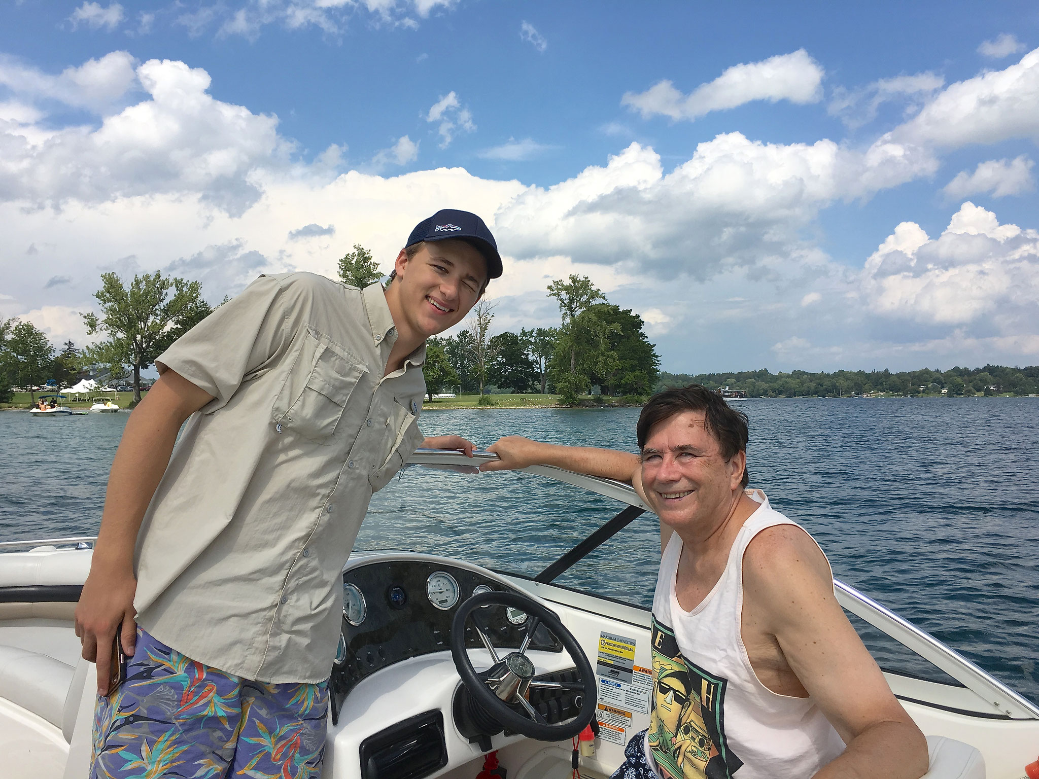 Jack & John at Skaneateles Lake