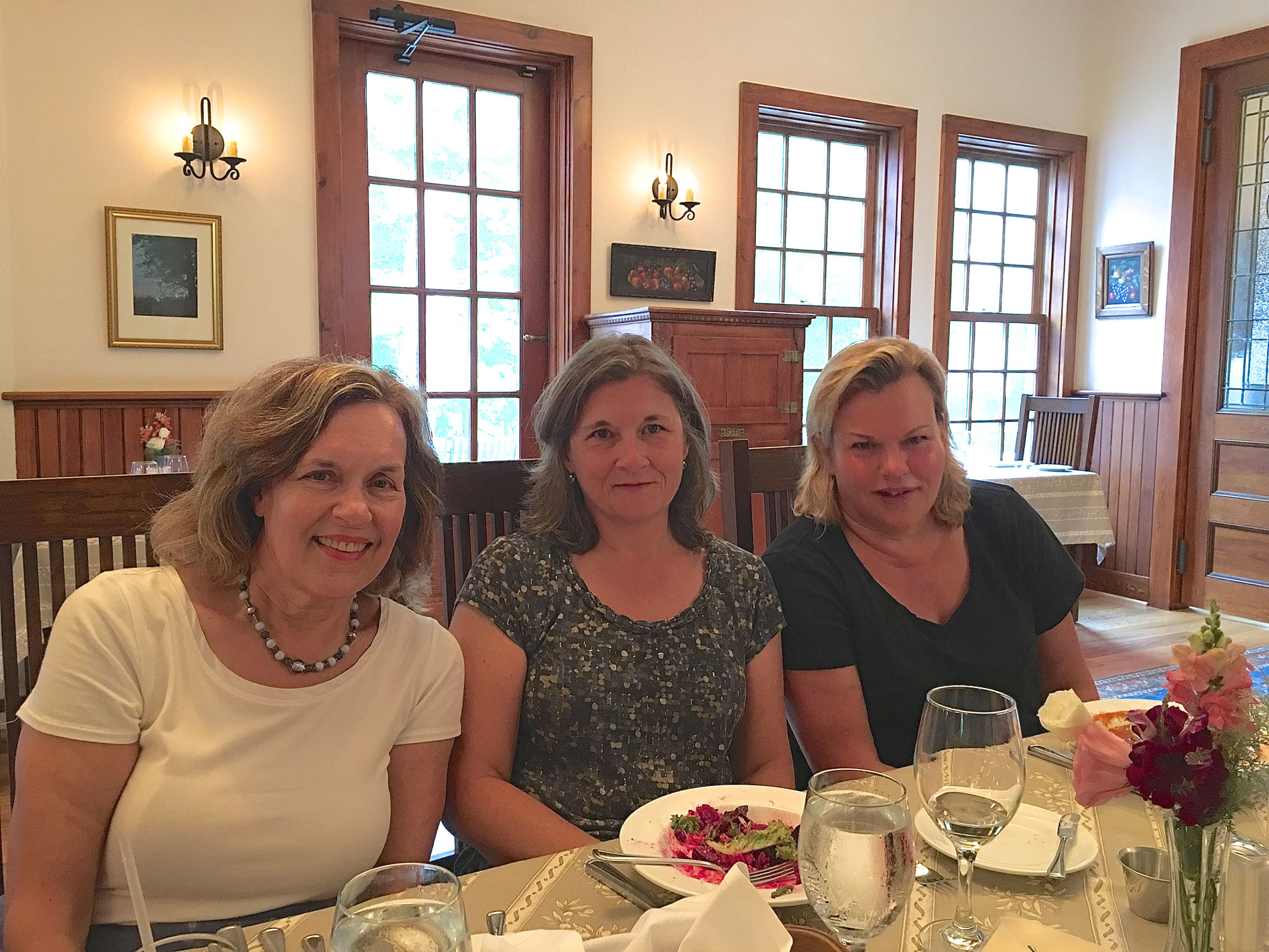 First cousins Lorraine, Cyndi, Celeste