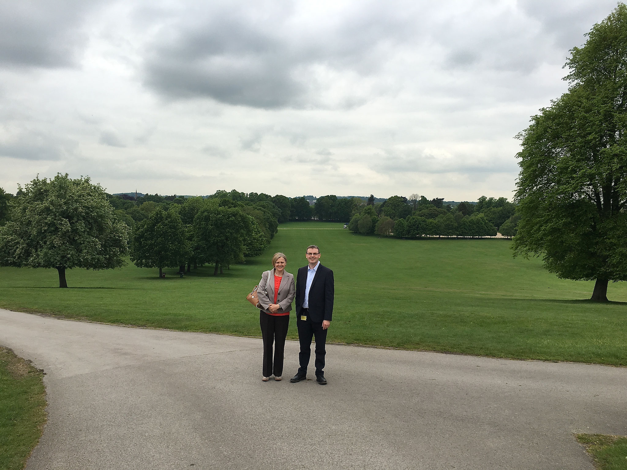 Drs. Sharon Mc Kenna and Nigel Mongan, Wollaton Hall