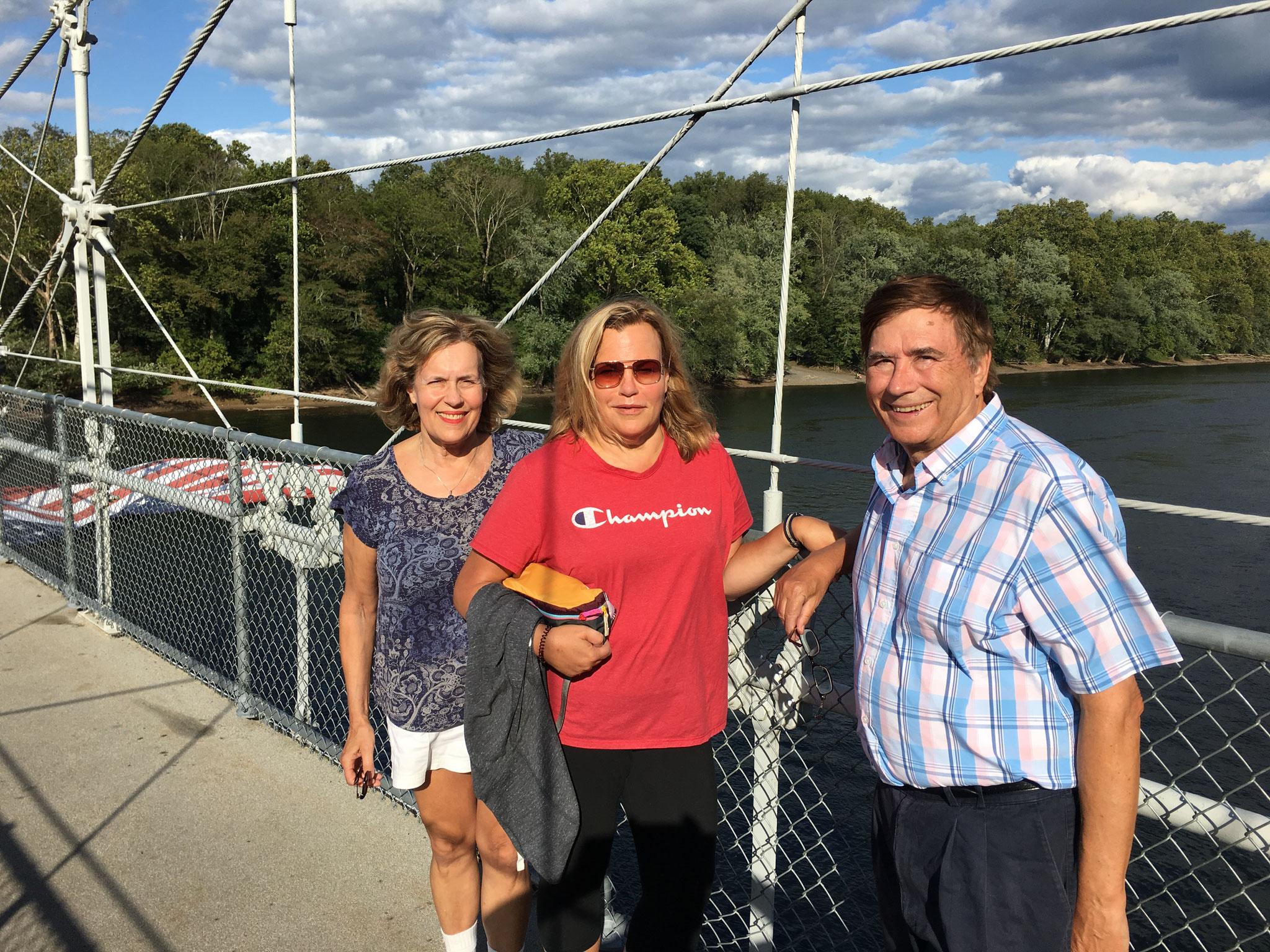 Lorraine Gudas, Celeste, John Wagner, Delaware River, 2019