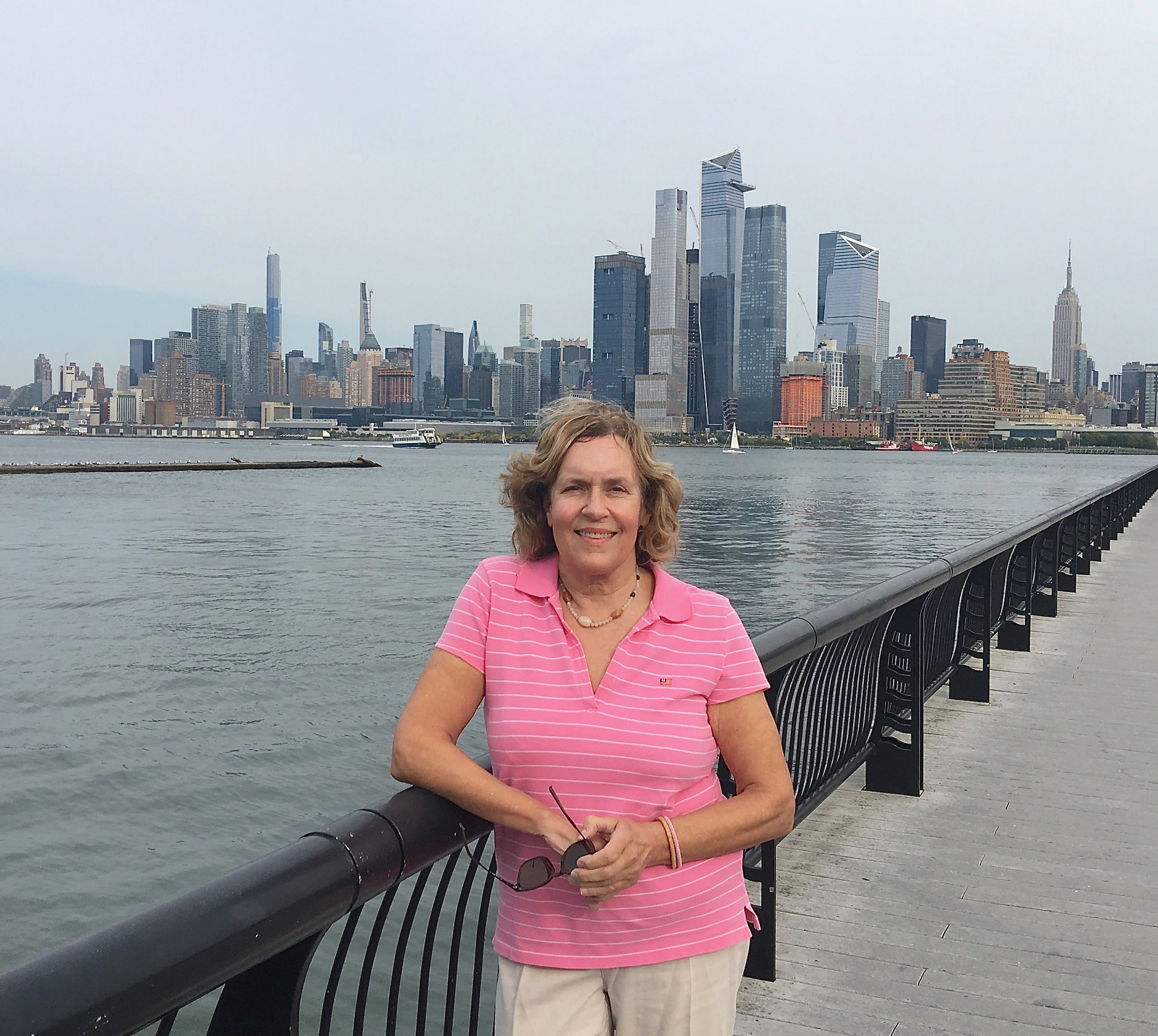 at Ferry Pier 14 in Hoboken, NJ  10-10-20