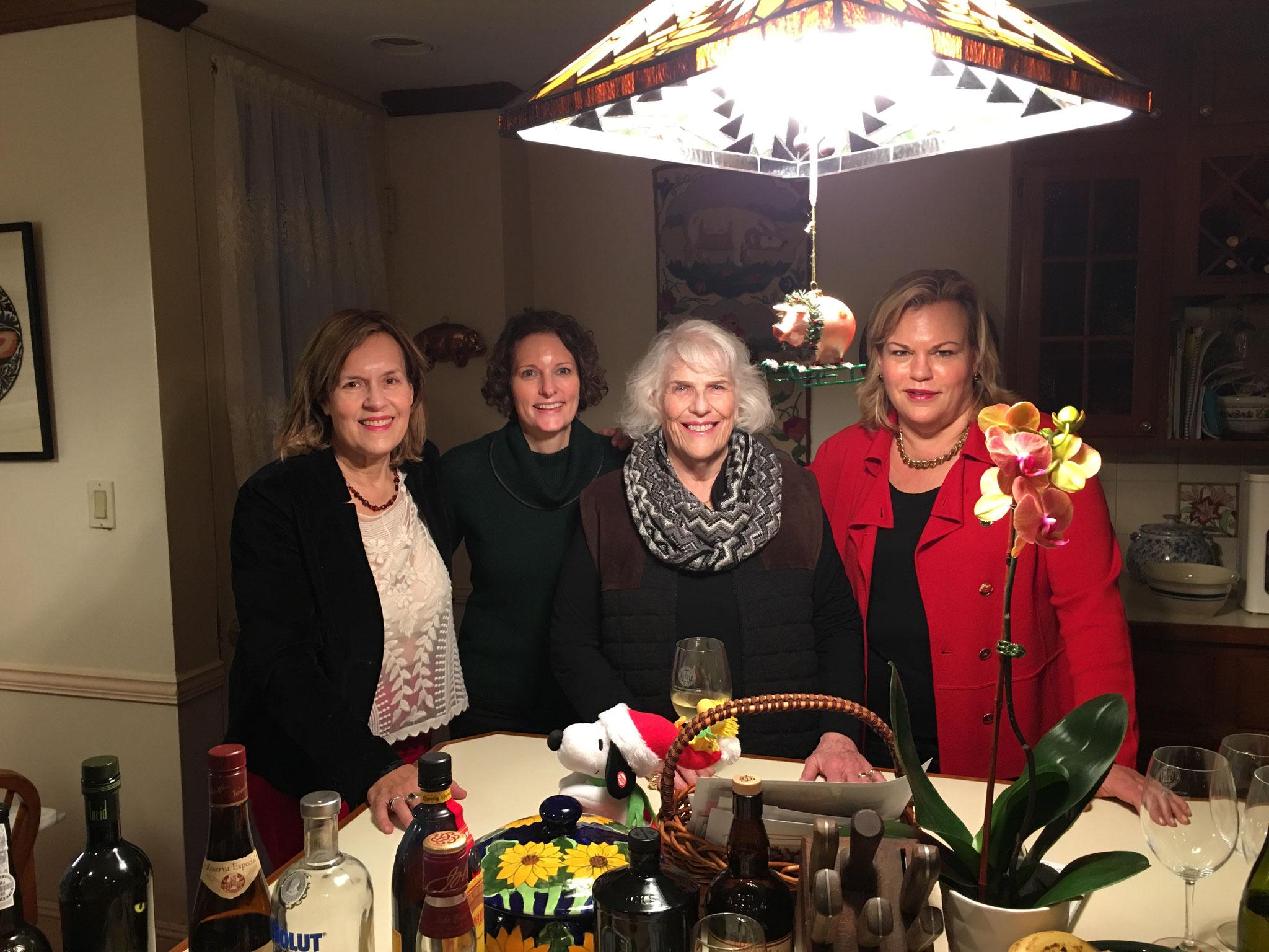 Lorraine Gudas, Lisa Kagel, Jane Kagel, Celeste