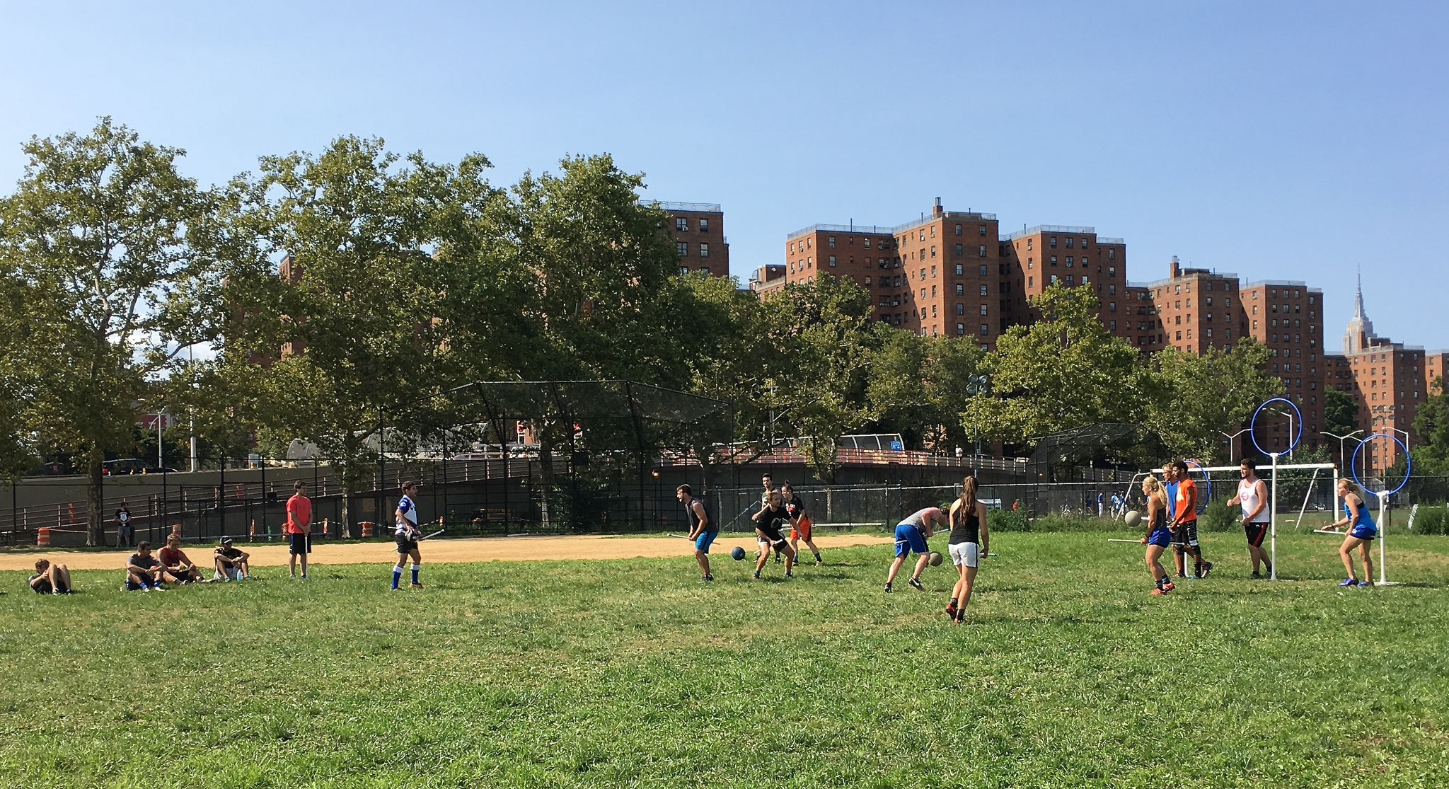 Playing Quidditch in NYC