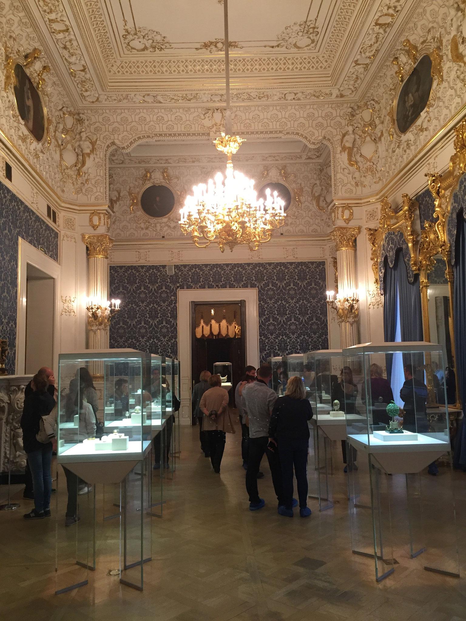 Faberge Museum, Shuvalov Palace, Fontanka River