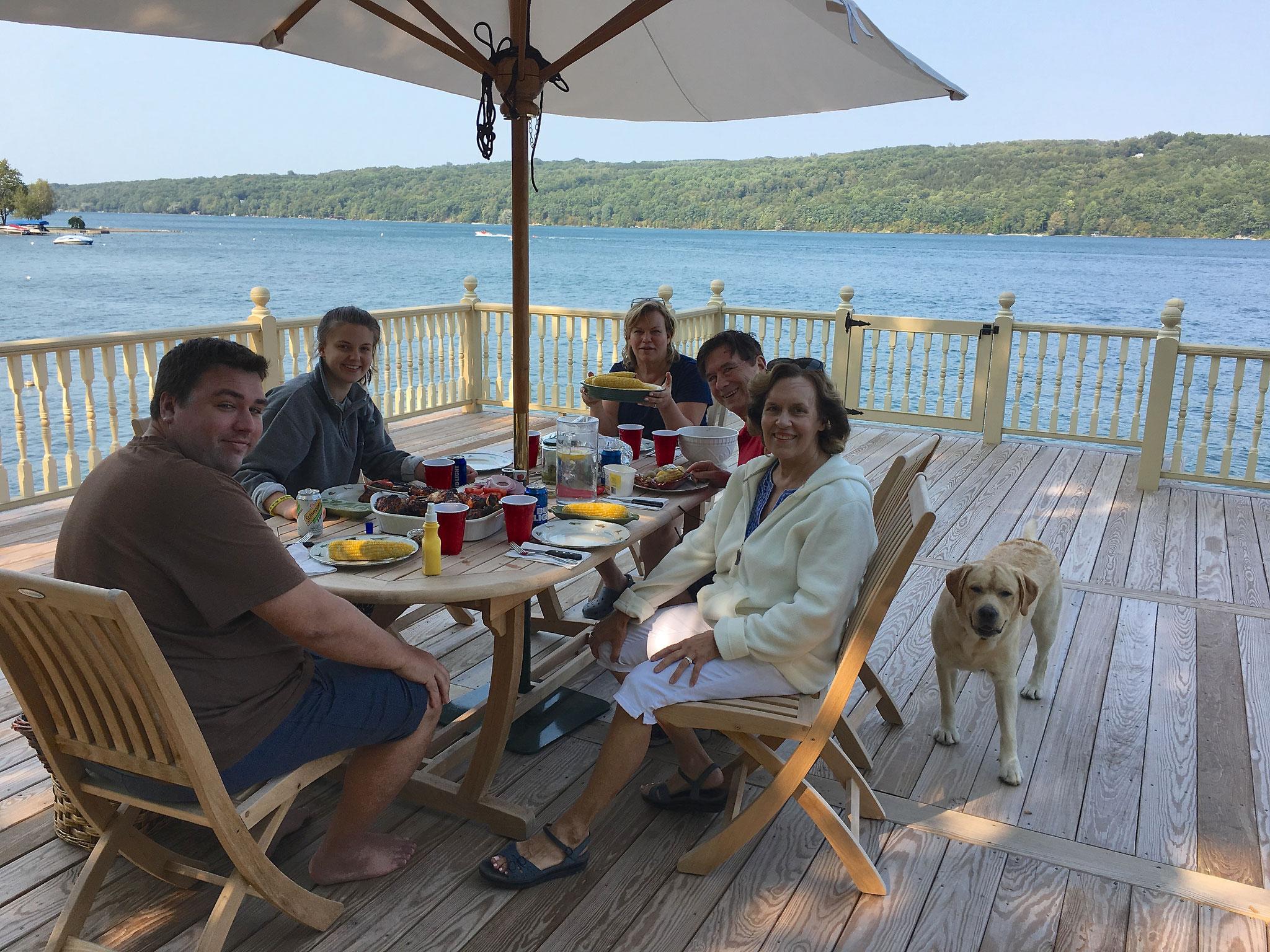 Greg, Kate, Celeste, John, & Lorraine