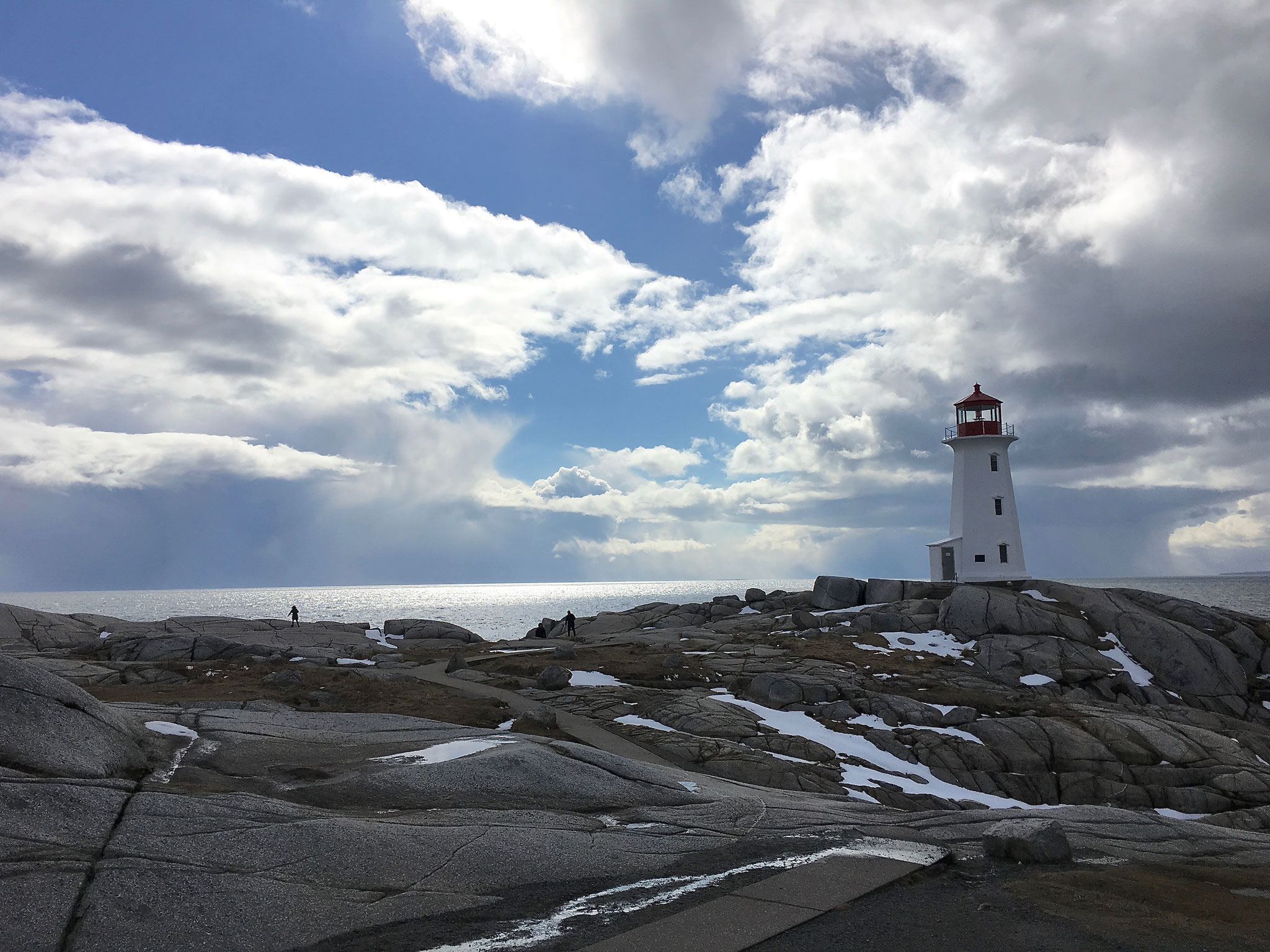 Peggy's Cove, Nova Scotia, Canada, March 2018