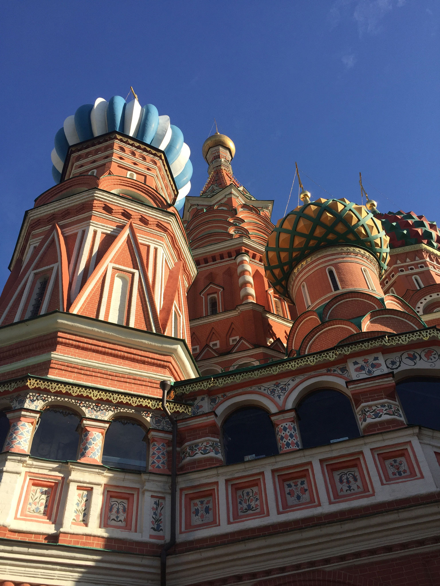 St. Basil's Russian Orthodox Cathedral on Red Square