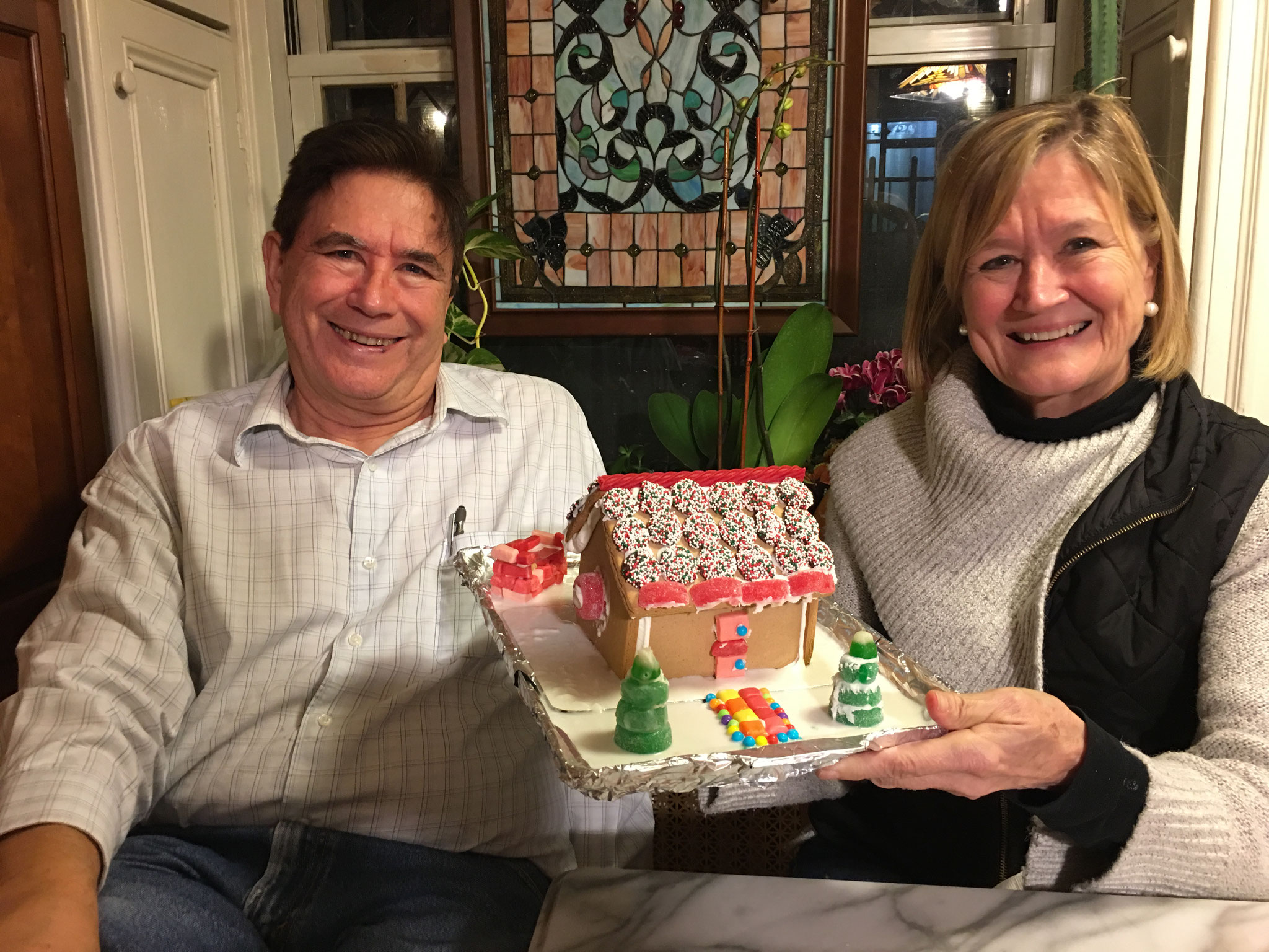 John & Sally's Gingerbread house!