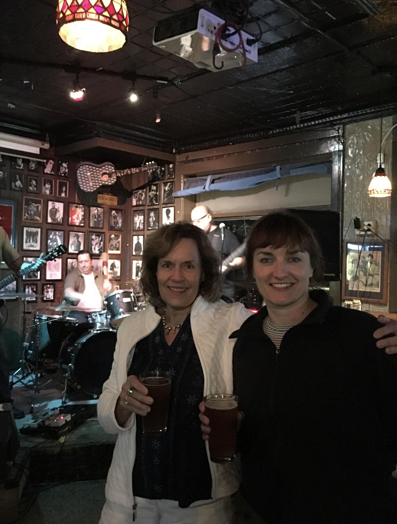 Lorraine & Wendy Barner at Shifty's July, 2019, Syracuse, NY