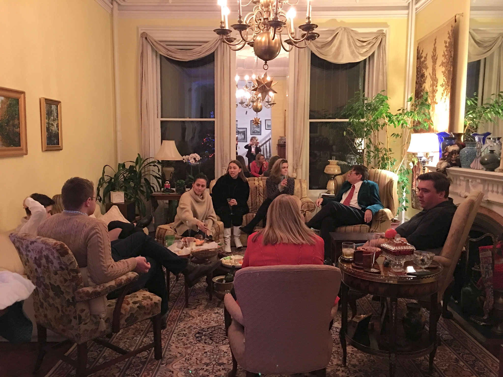 Gudas-Wagner residence, Xmas celebration, Dec. 22, 2018