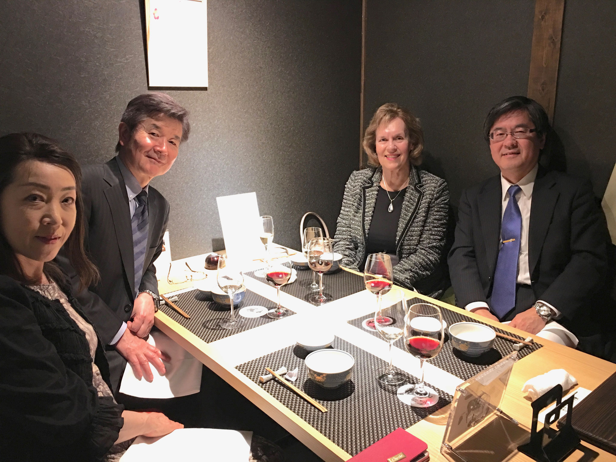 Dinner with the offiders of the Japanese Pharmacological Society