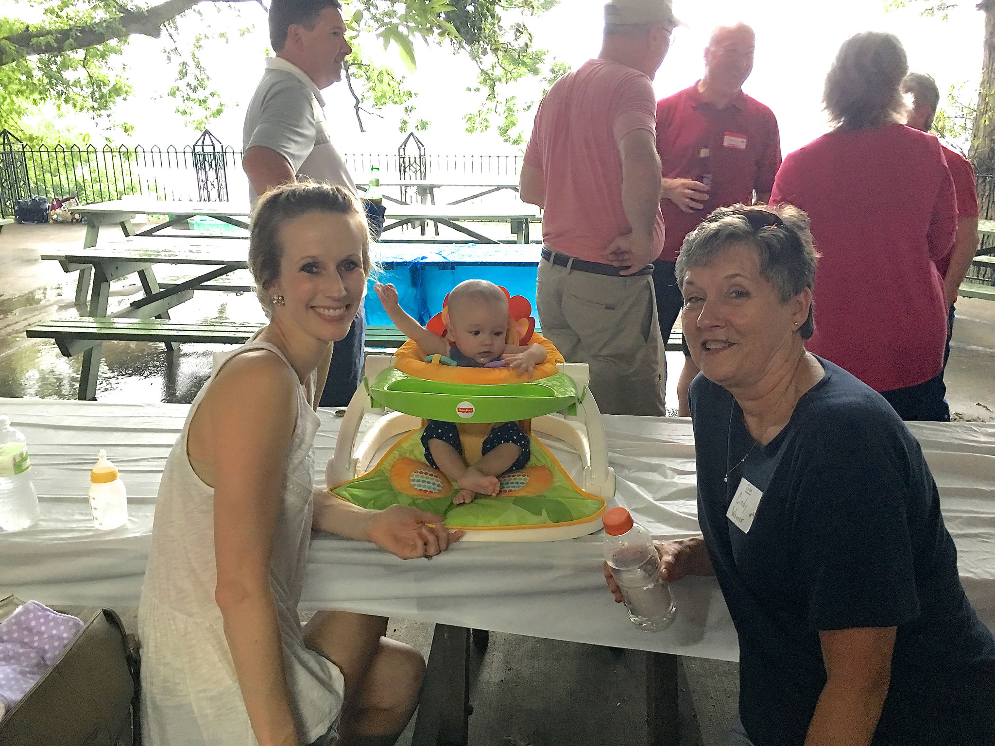 Emily Wagner with Cadence Wagner and Cindy Wagner