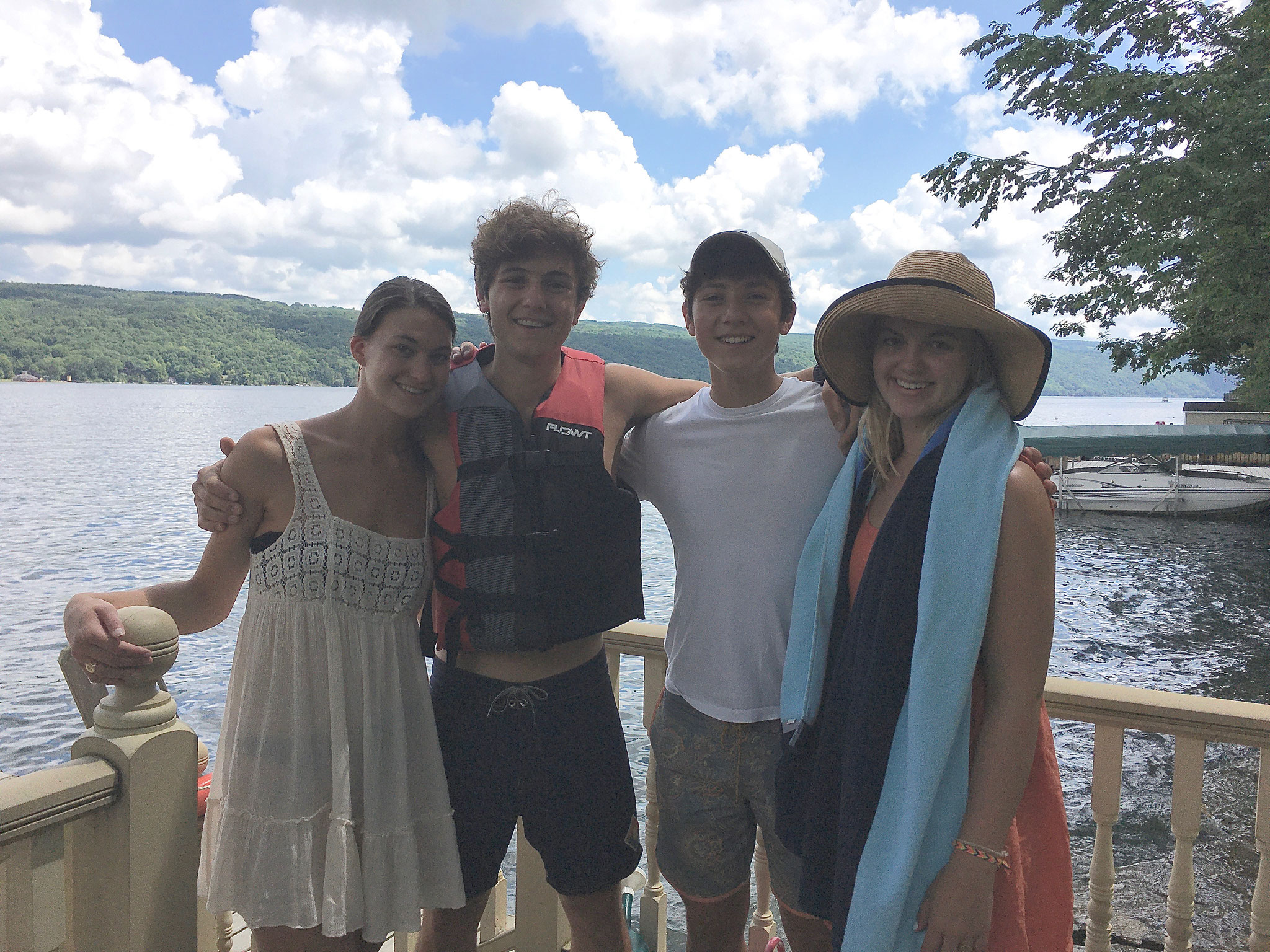 Ellie, Dino, Dante, & Kate  8-2020
