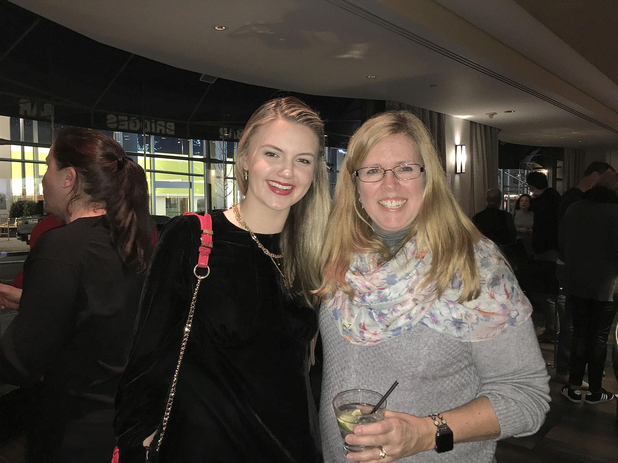 Kate Kagel & Lisa Sroka, Kathy's daughter, 12-2019