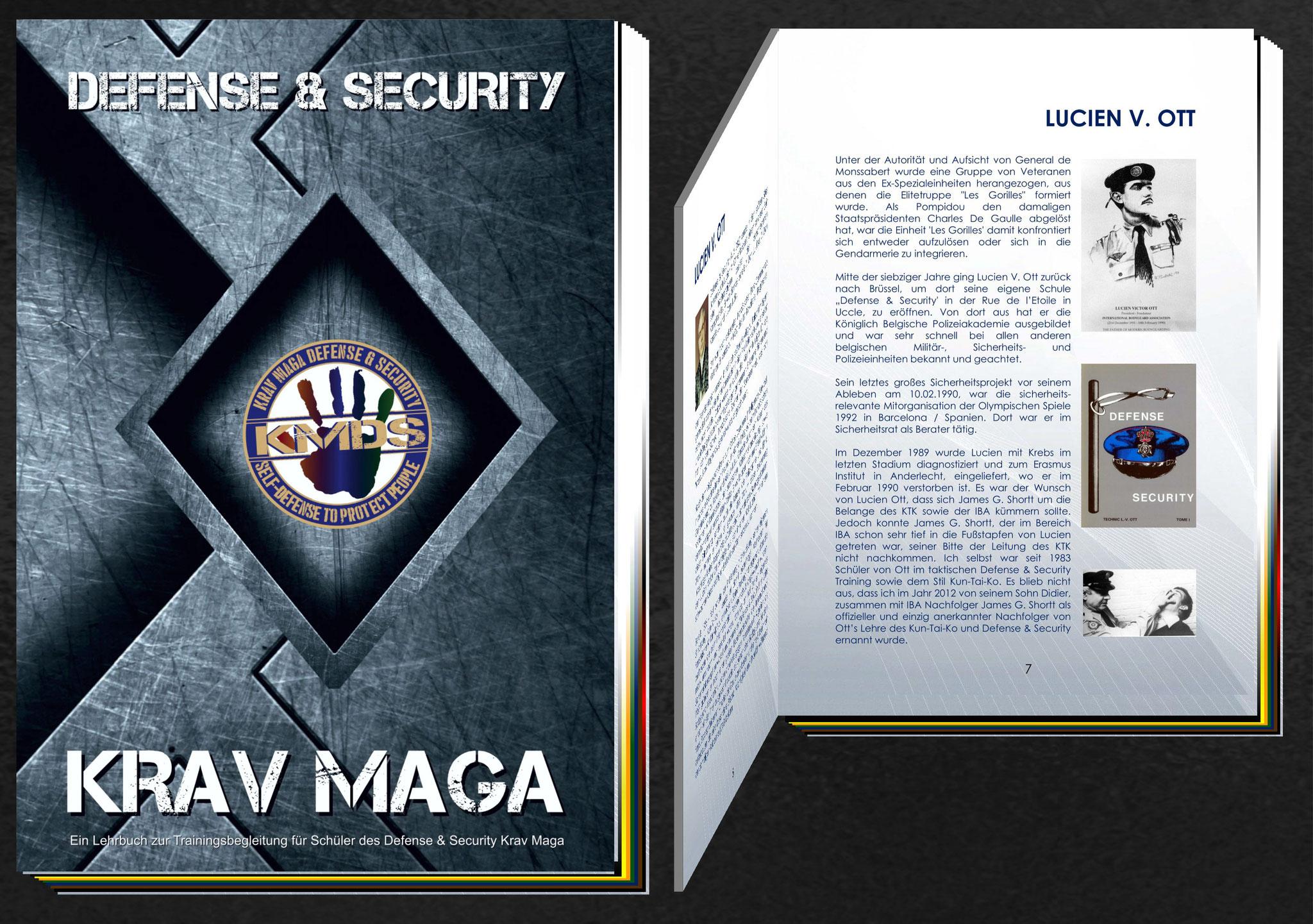 KMDS - Krav Maga Defense & Security Lehrbuch
