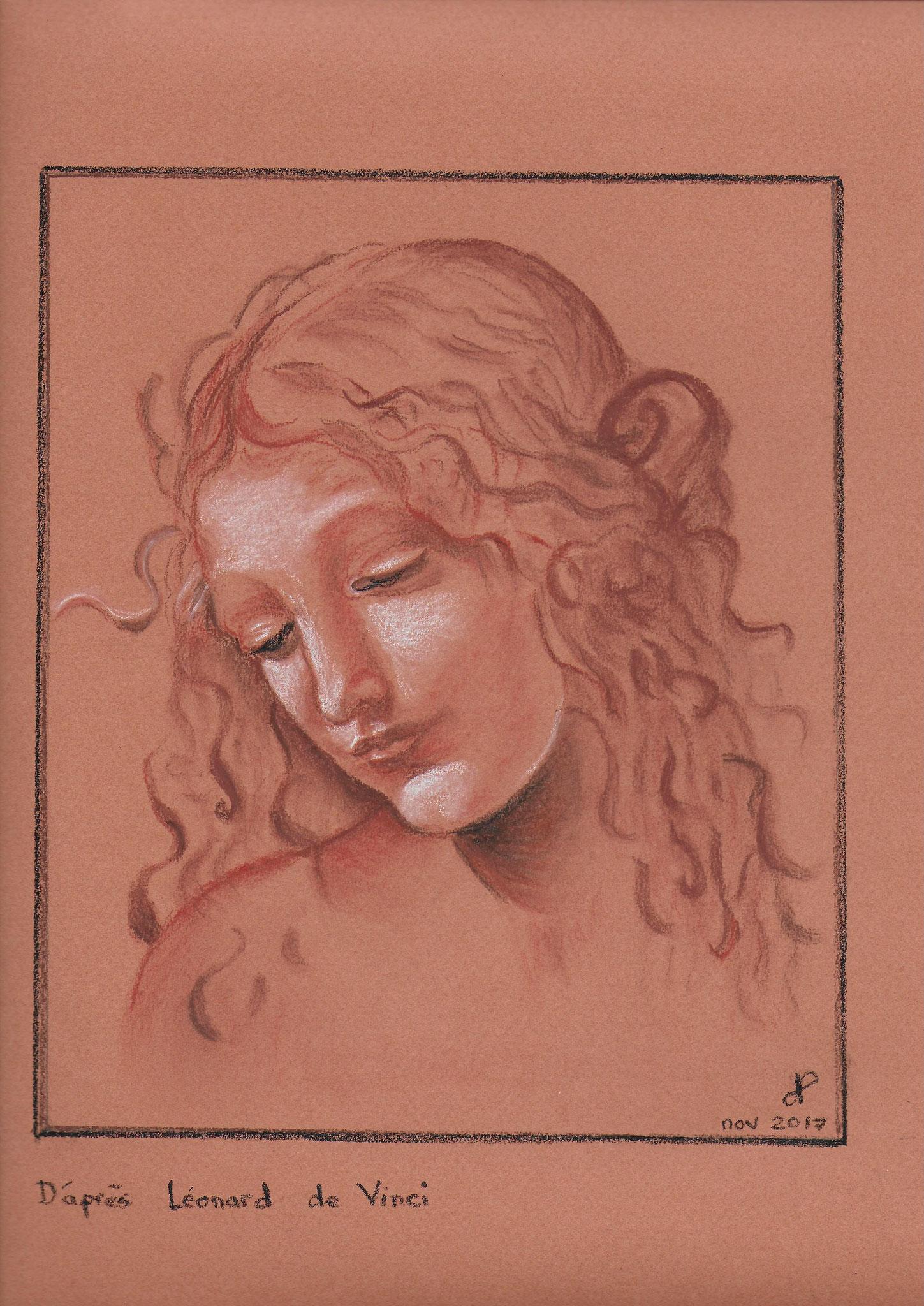 Léonard de Vinci sanguine nov 2017
