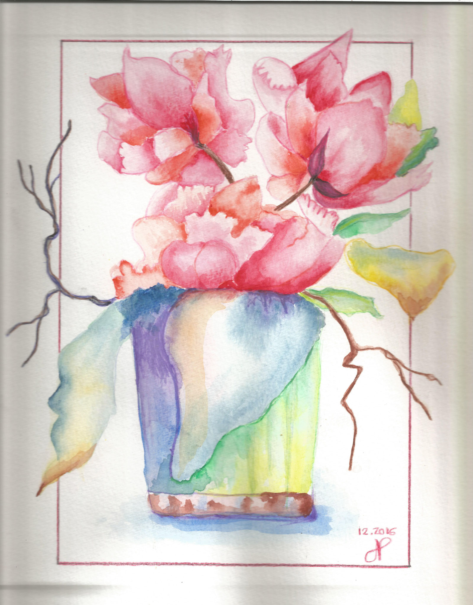 Bouquet dec 2016 Mimi