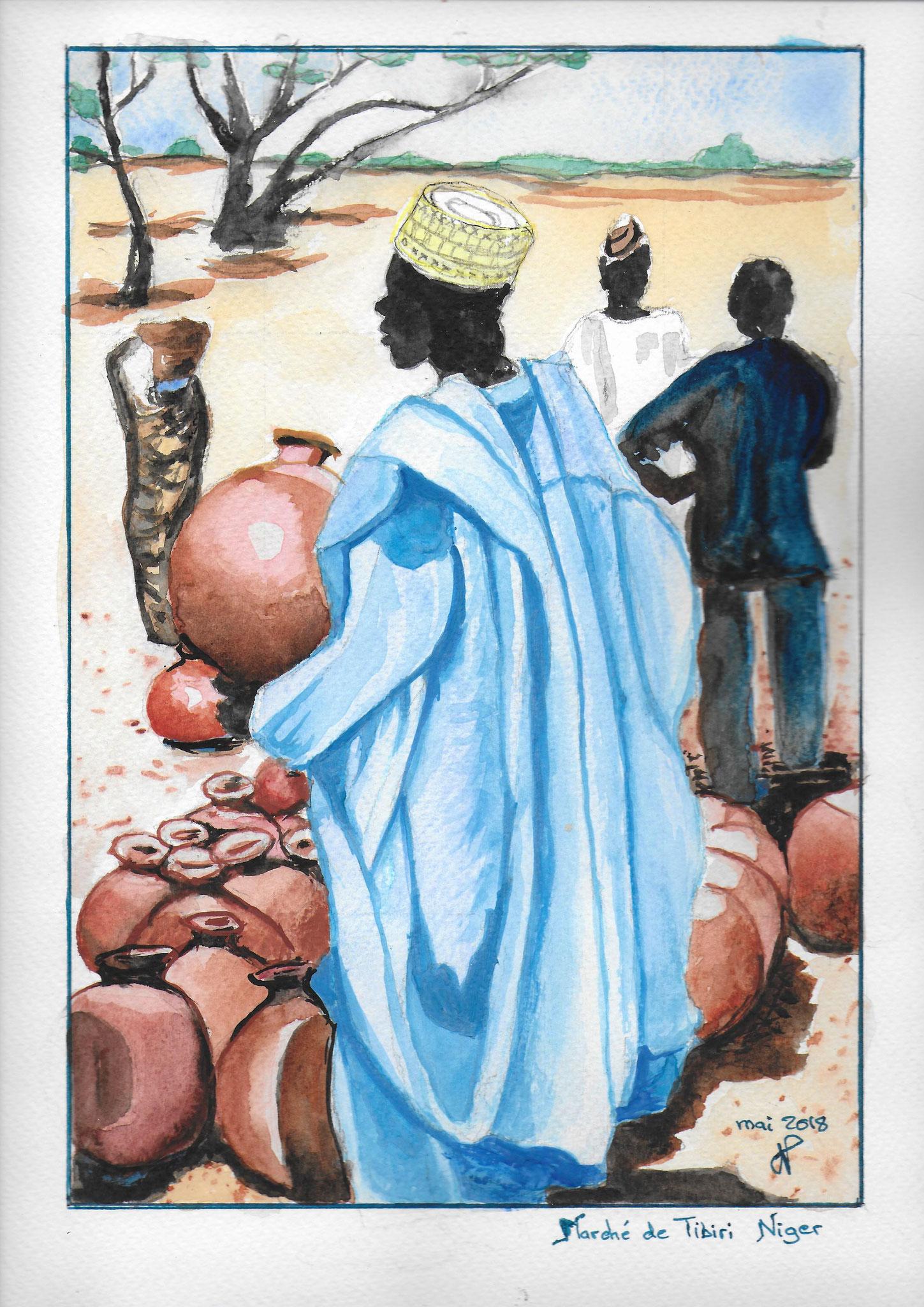 Niger mai 2018 a l'encadrement chez Josette