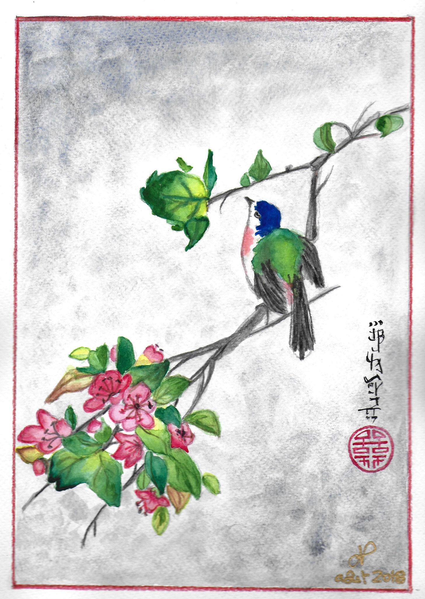 oiseau japonais aout 2018