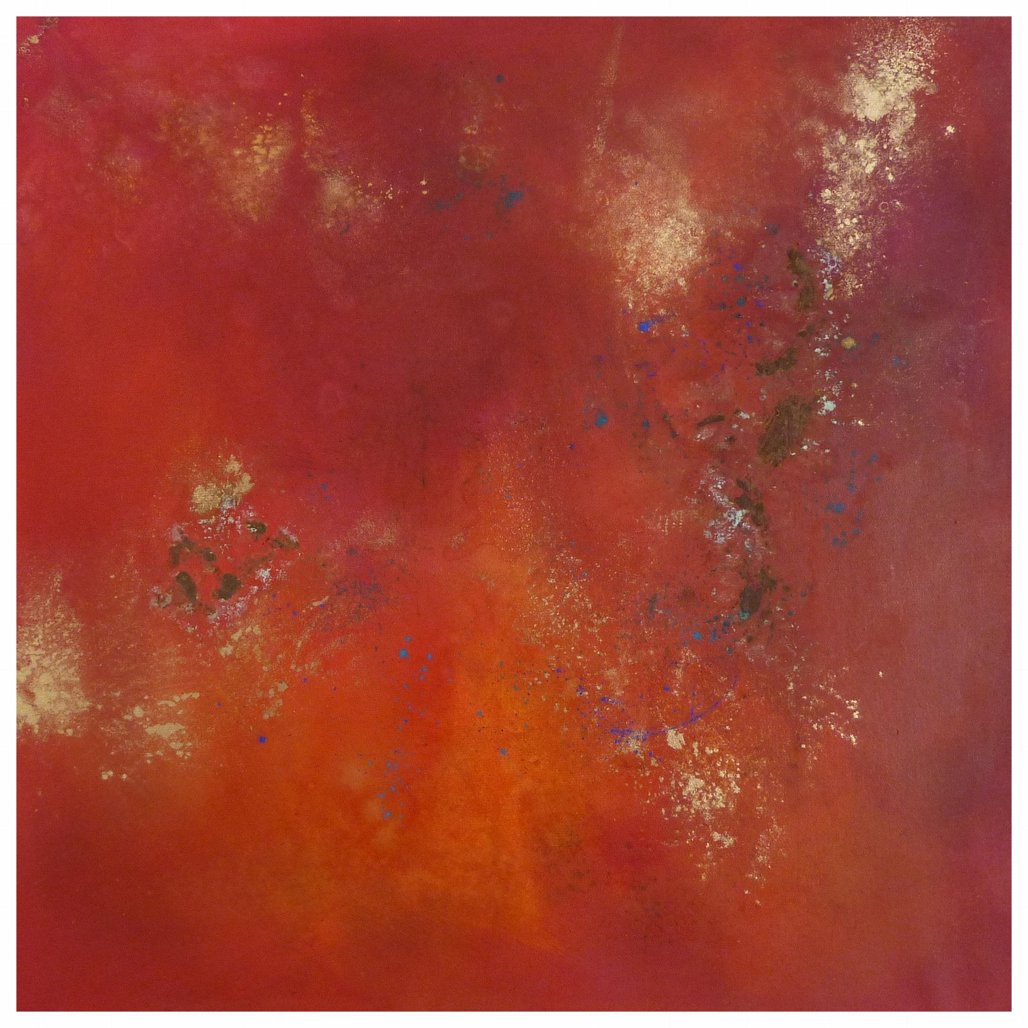 Orange II, 60 x 60 / 2016
