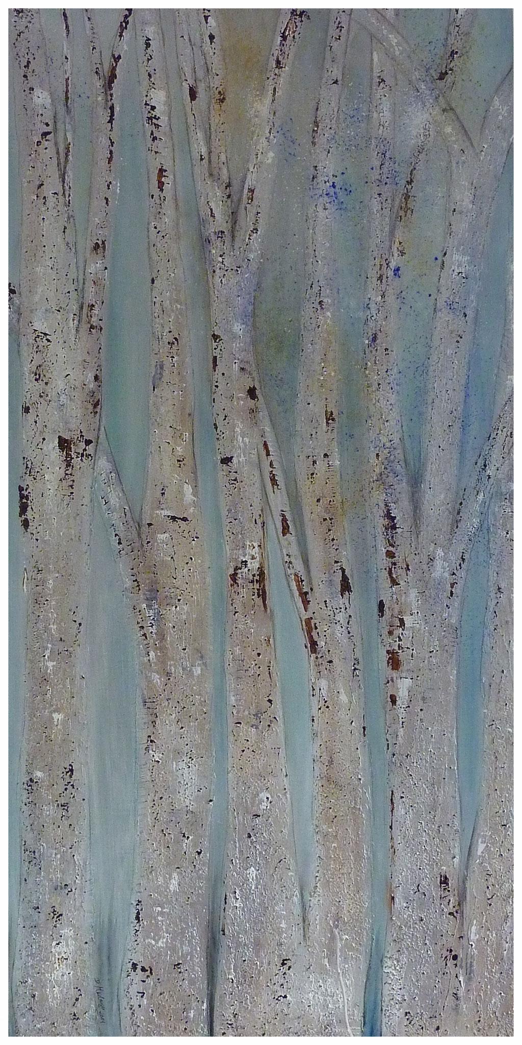 Zauberwald  , 60 x 110 / 2014