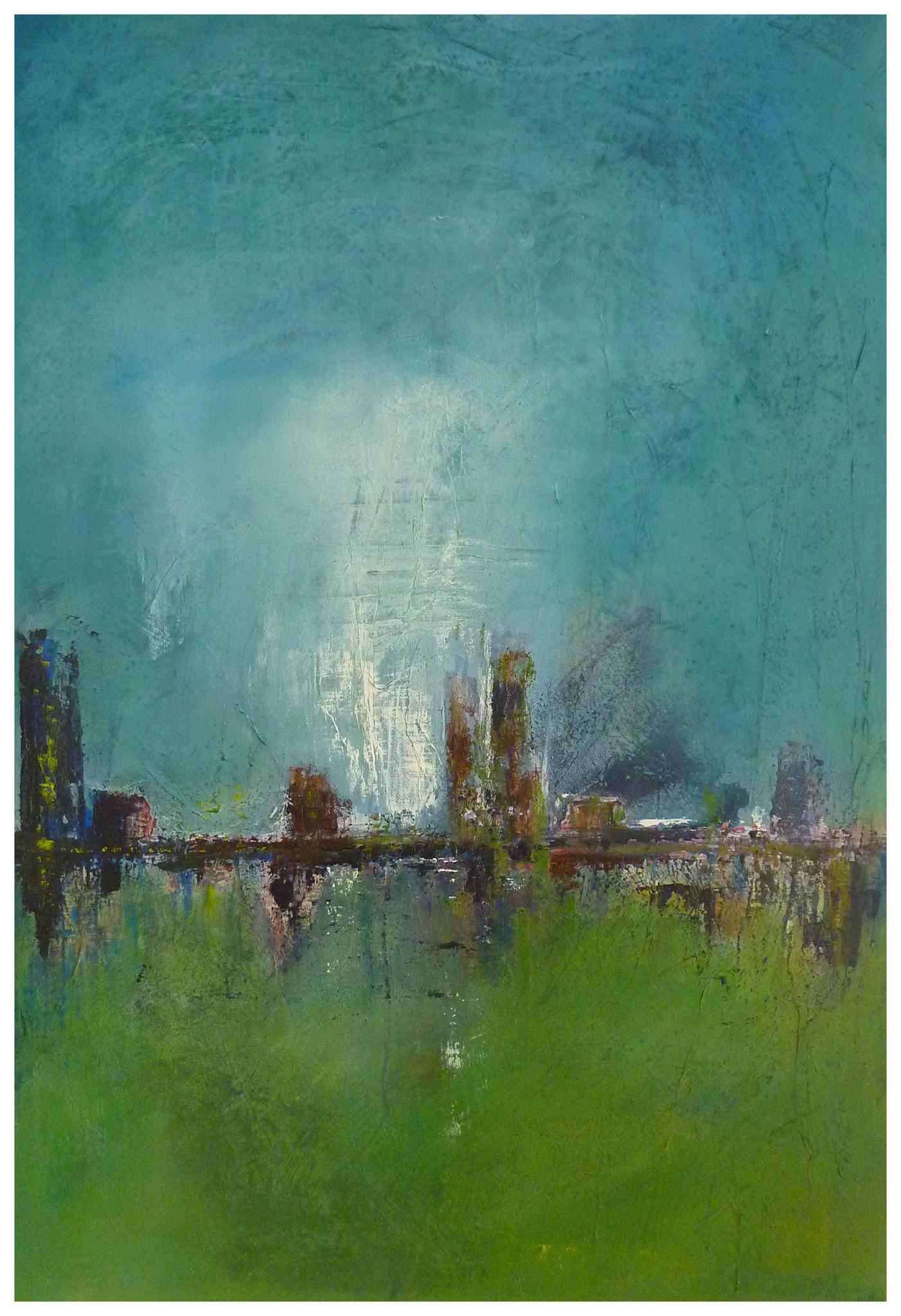 Skyline , 70 x 100 , 2017
