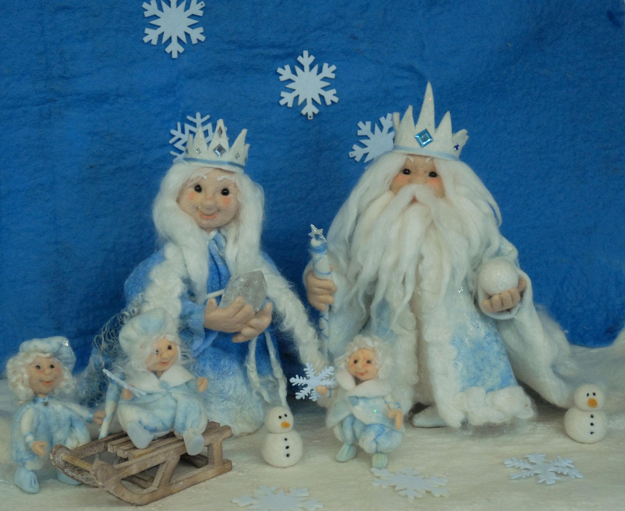 König und Königin Winter
