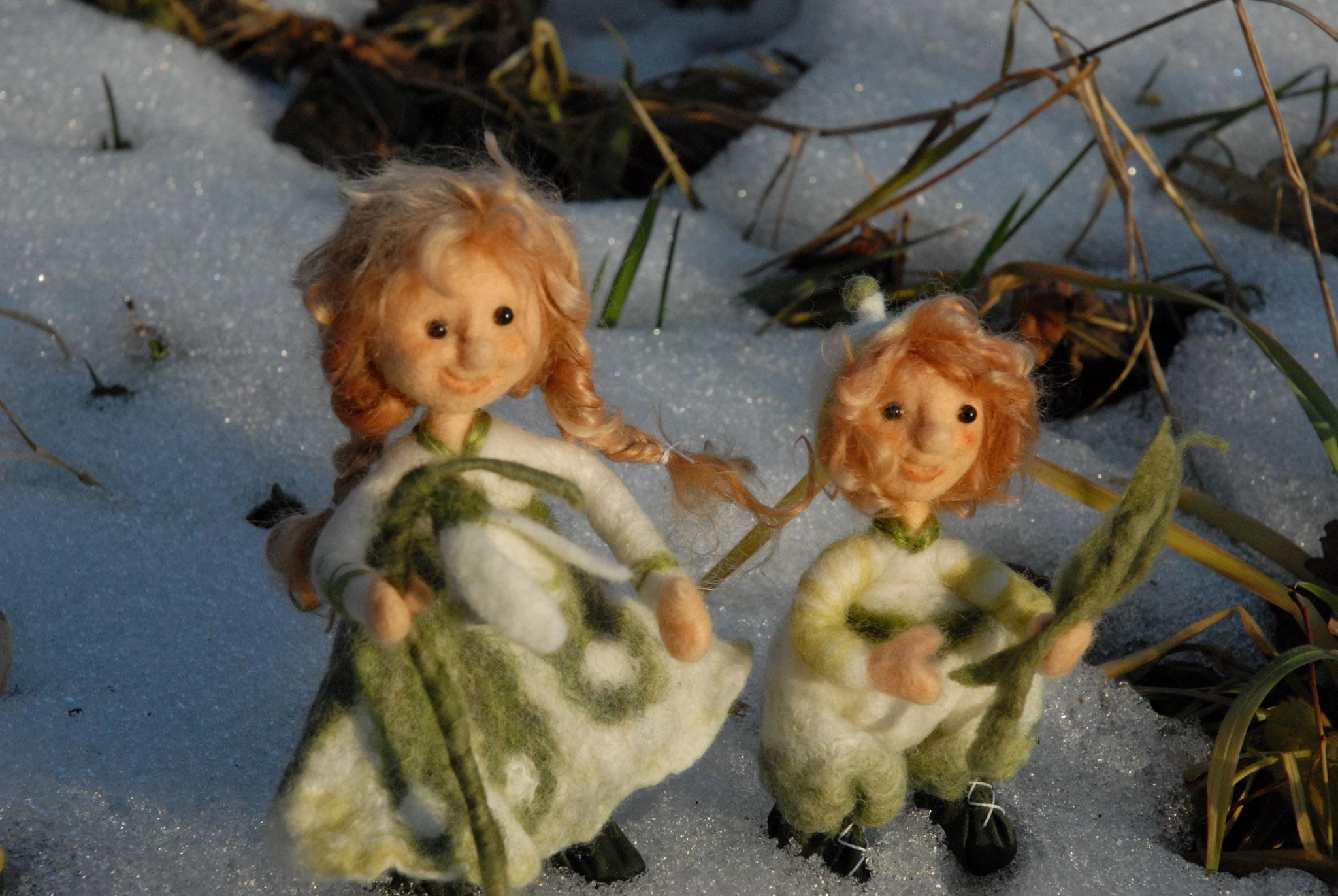 Blumenkinder Schneeglöckchen