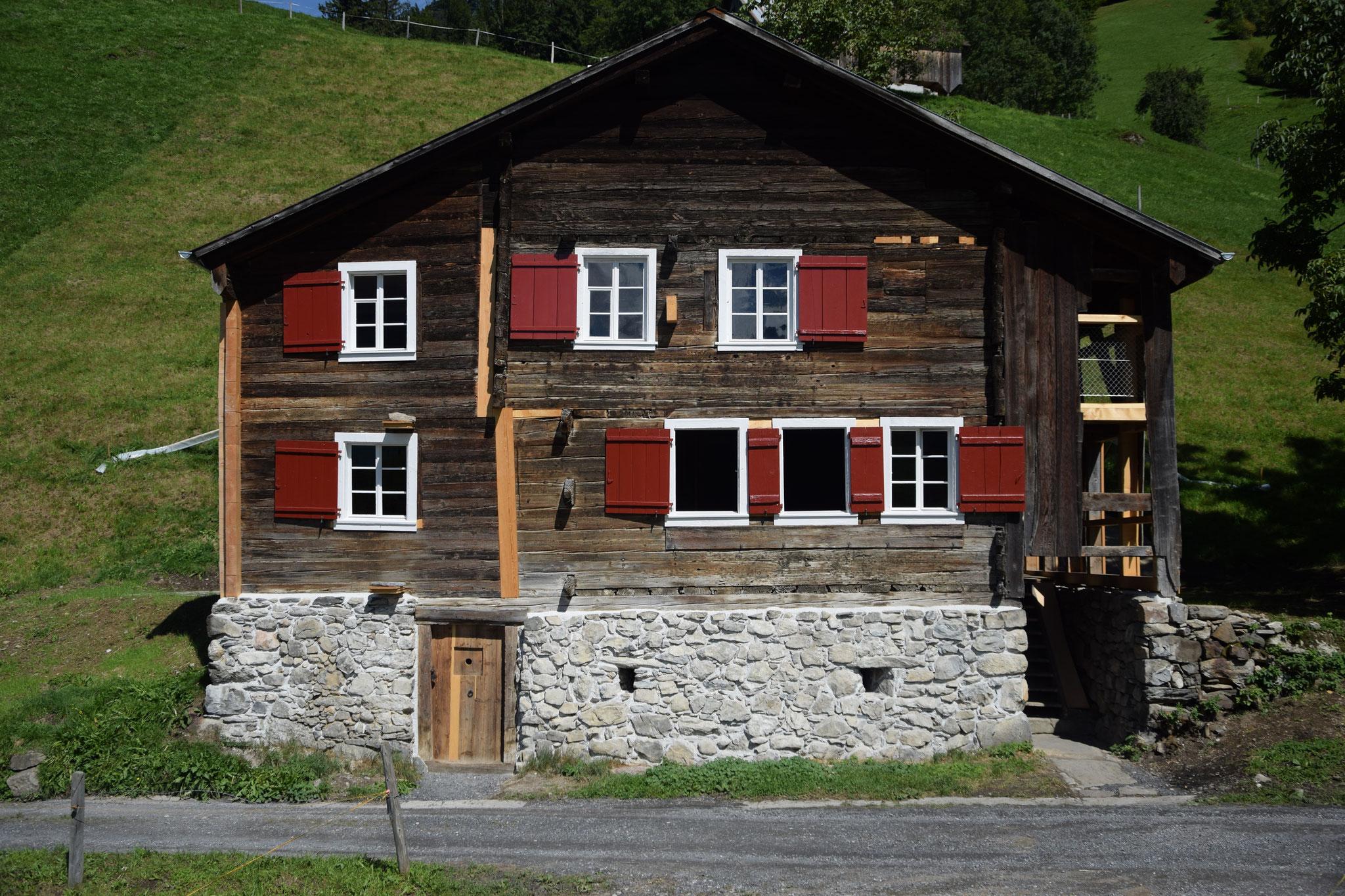 Haus Tannen nach der Restaurierung